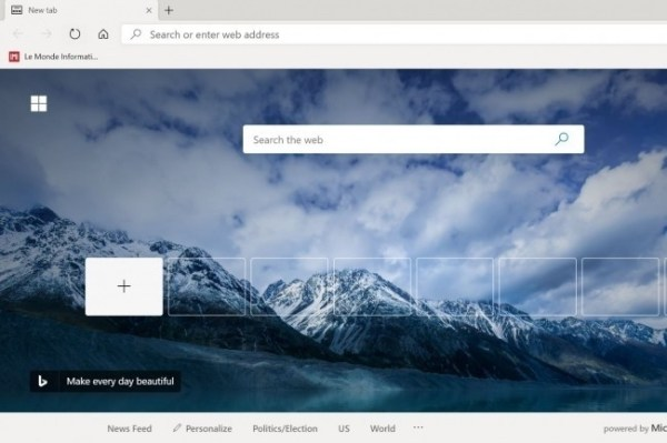 Microsoft va déployer Edge sous Chromium pour Windows 10 - Le Monde Informatique