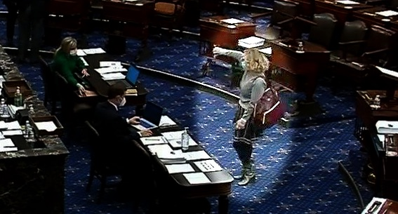 Kyrsten Sinema Went to Washington and Became a Monster