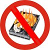 avoid hard drive crash and burn