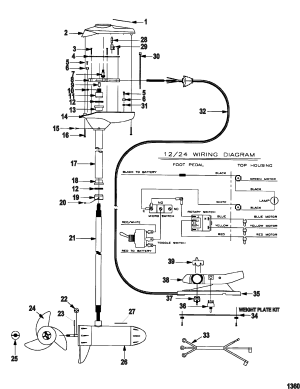 Motuide Trolling Motor Wiring Diagram  impremedia