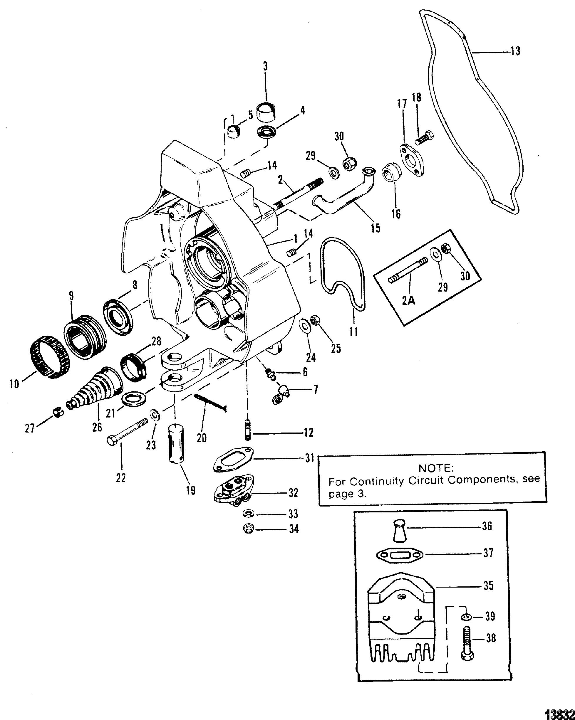 Gimbal Housing For Mercruiser Alpha One Gen Ii Stern Drive