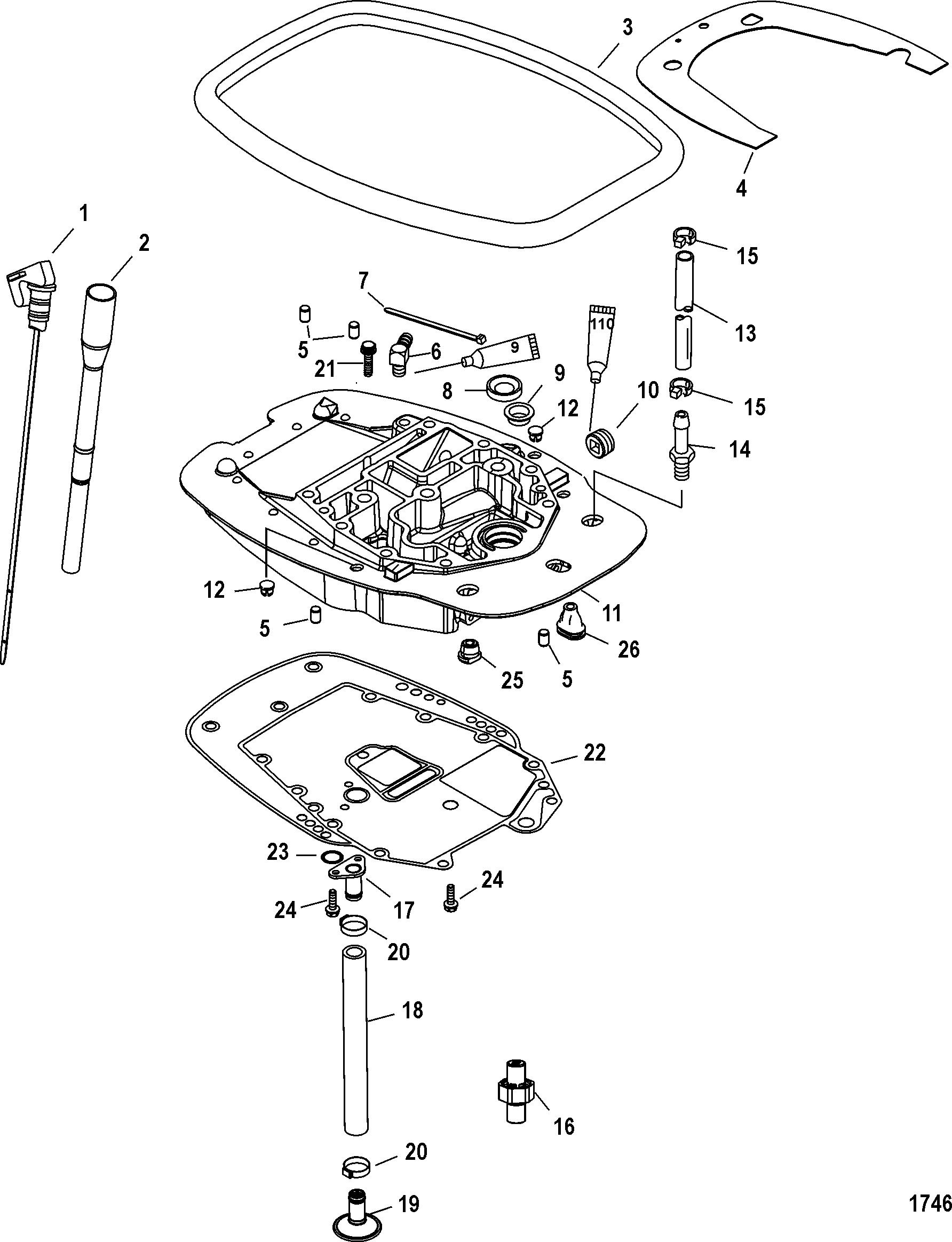 Adaptor Plate For Mariner Mercury 40 Efi 3 Cylinder 4 Stroke