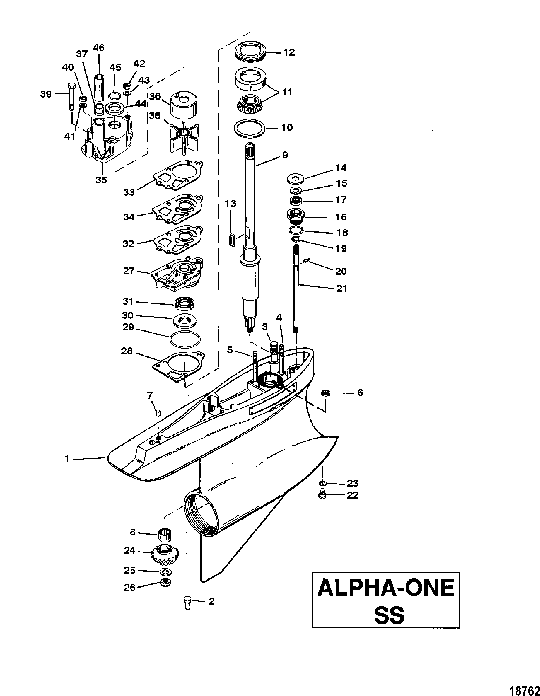 Alpha One Exhaust | Wiring Diagram Database