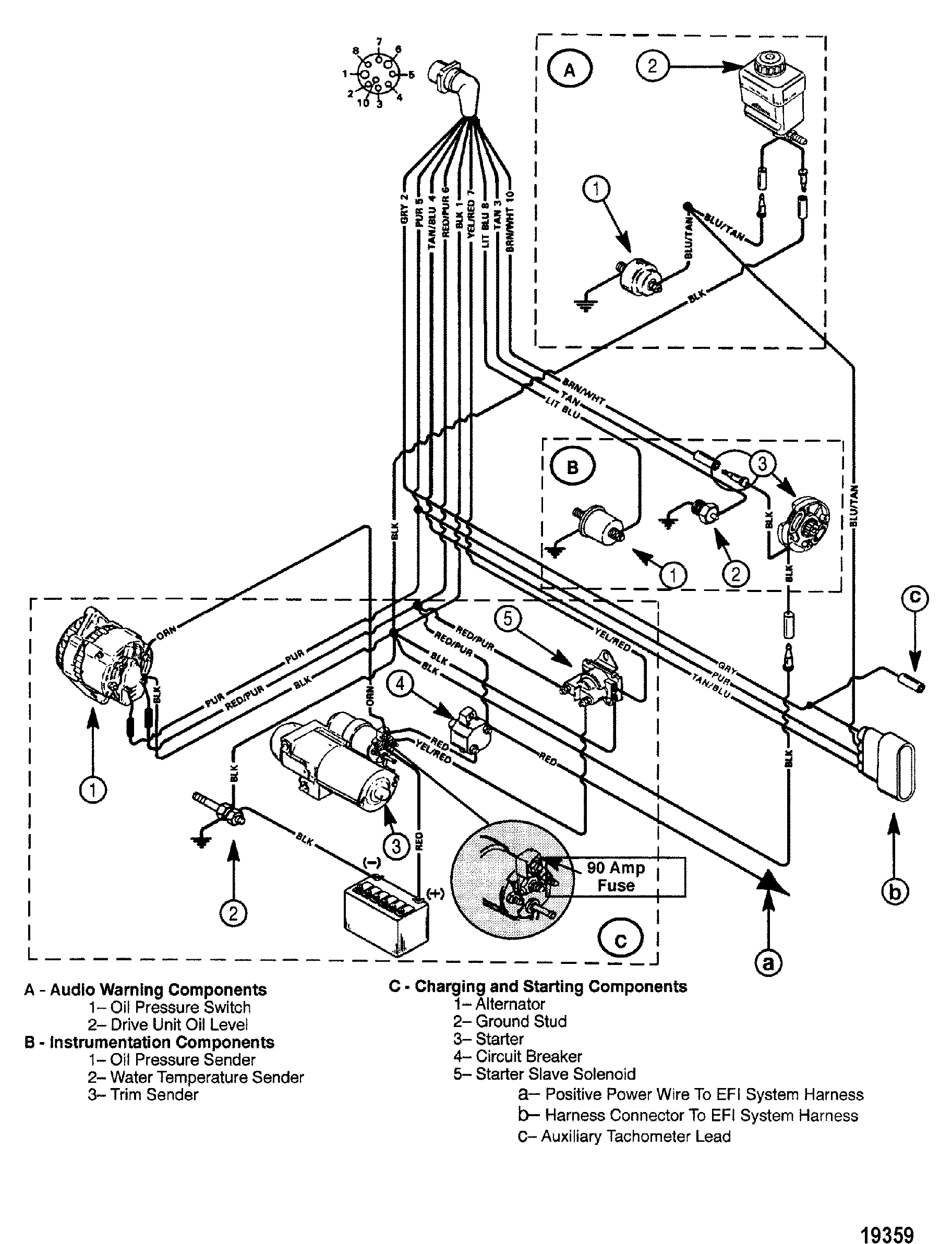350 Marine Engine Starter Wiring Diagram