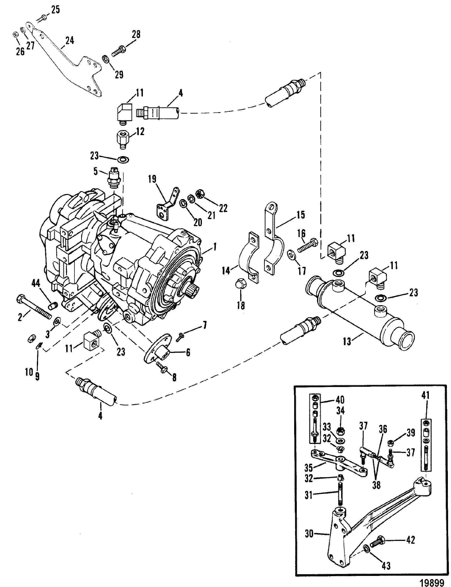 Transmission And Related Parts V Drive For Mercruiser