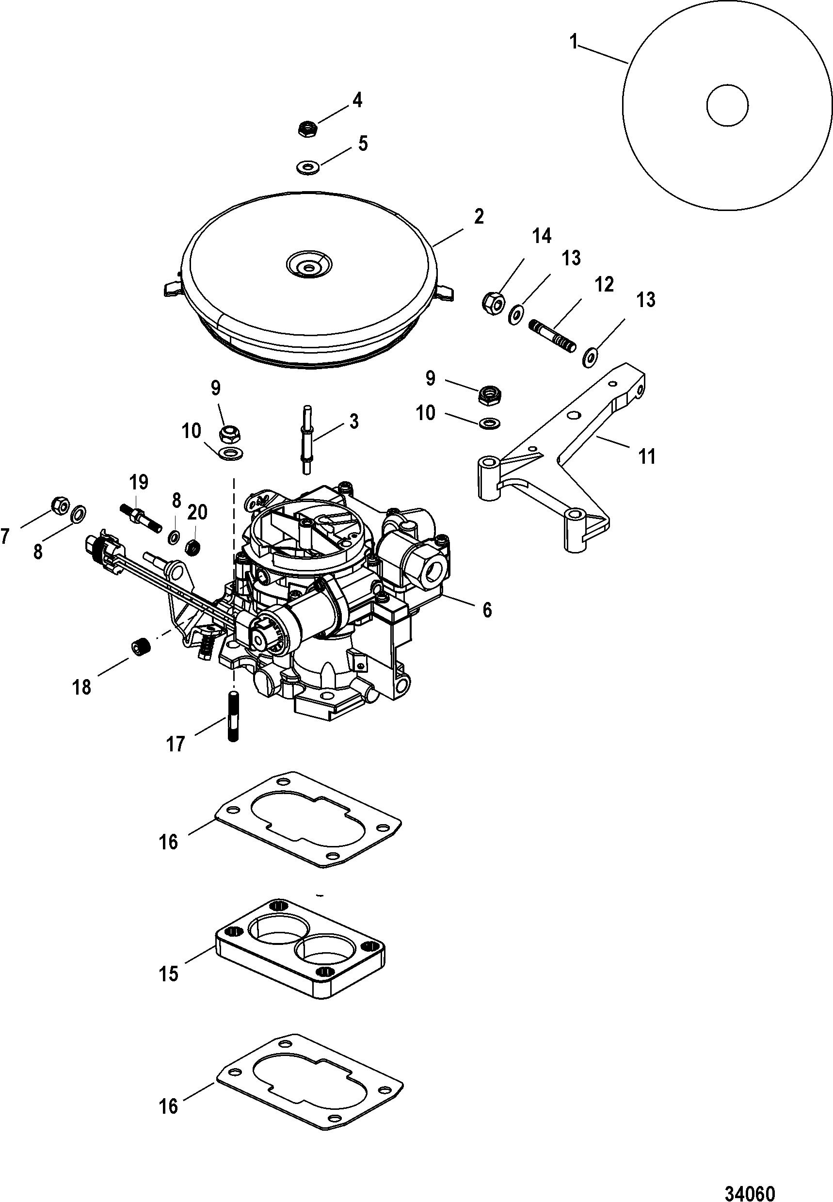 4 3l Vortec Engine