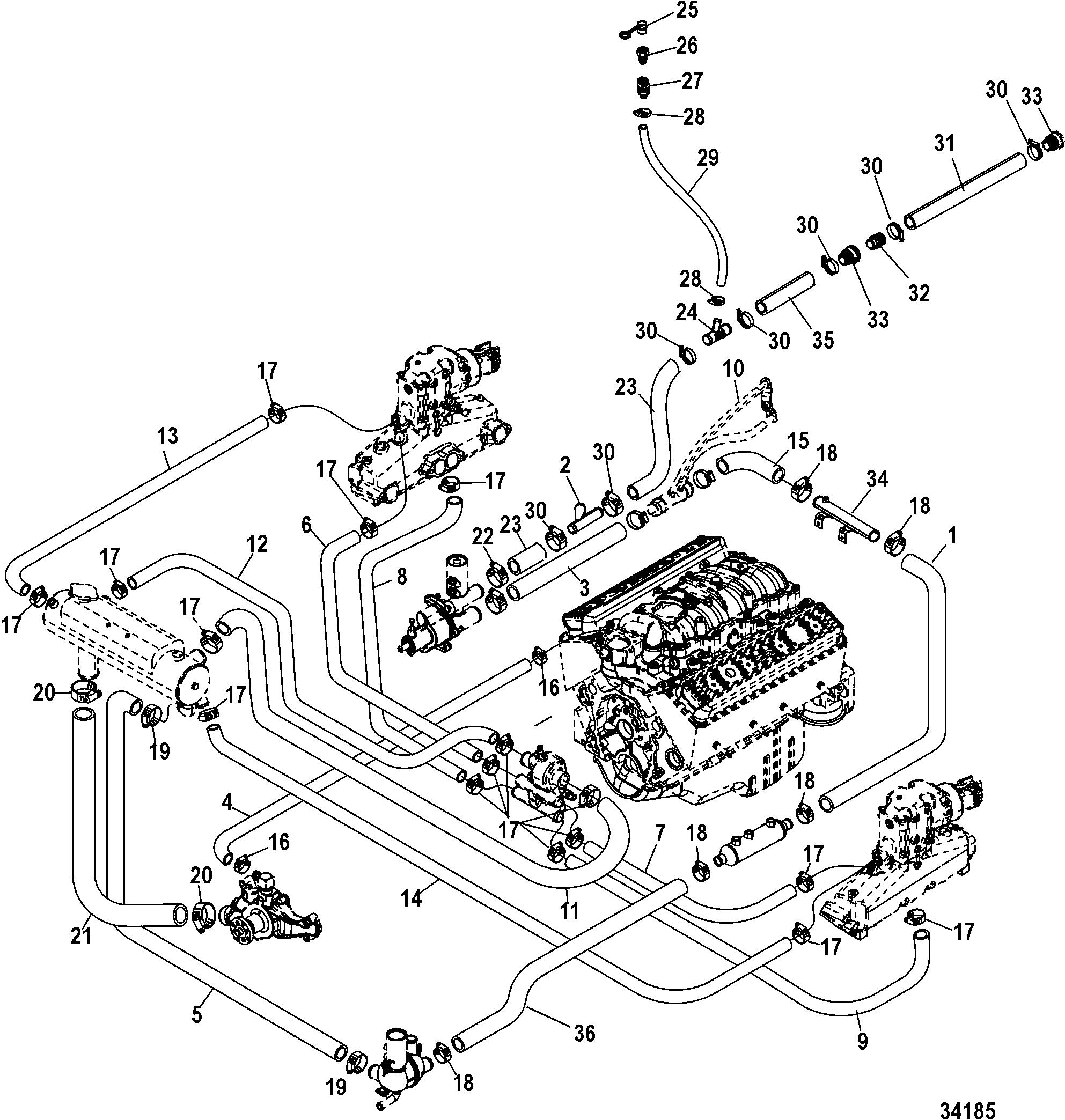 34 Mercruiser 5 0 Wiring Diagram