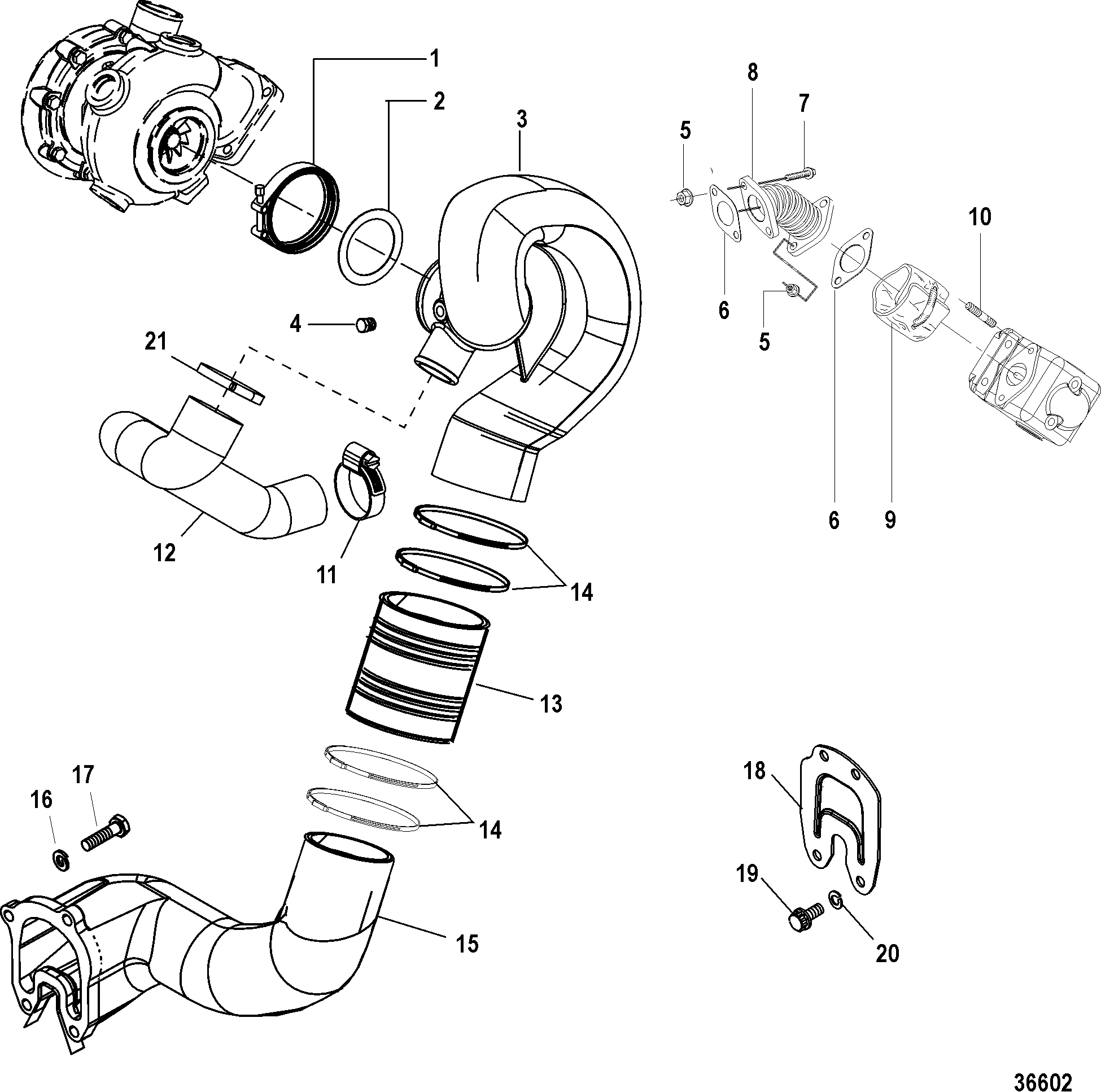 Exhaust Components Sterndrive