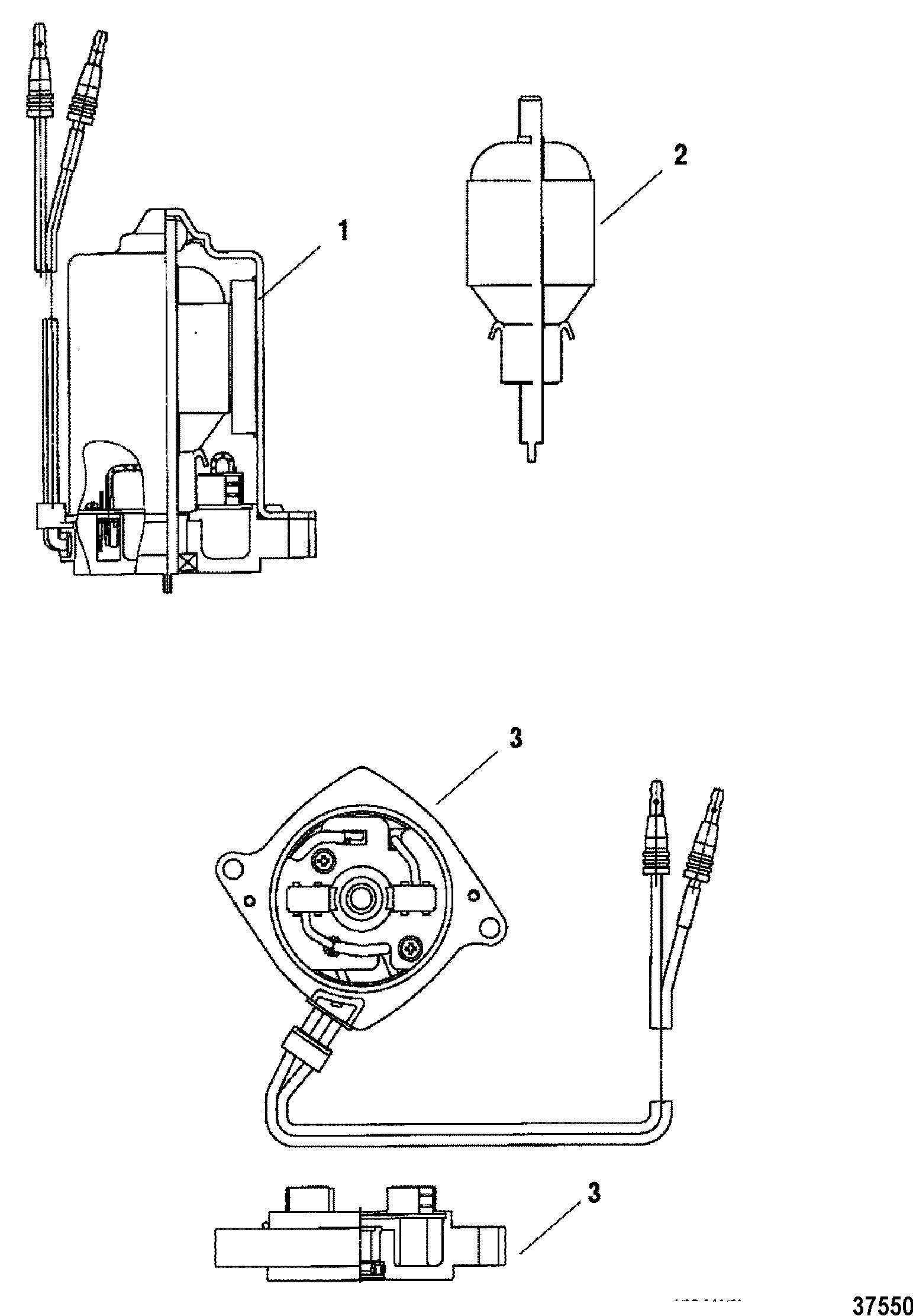 Power Trim Motor For Mariner Mercury 150 175 200 Efi
