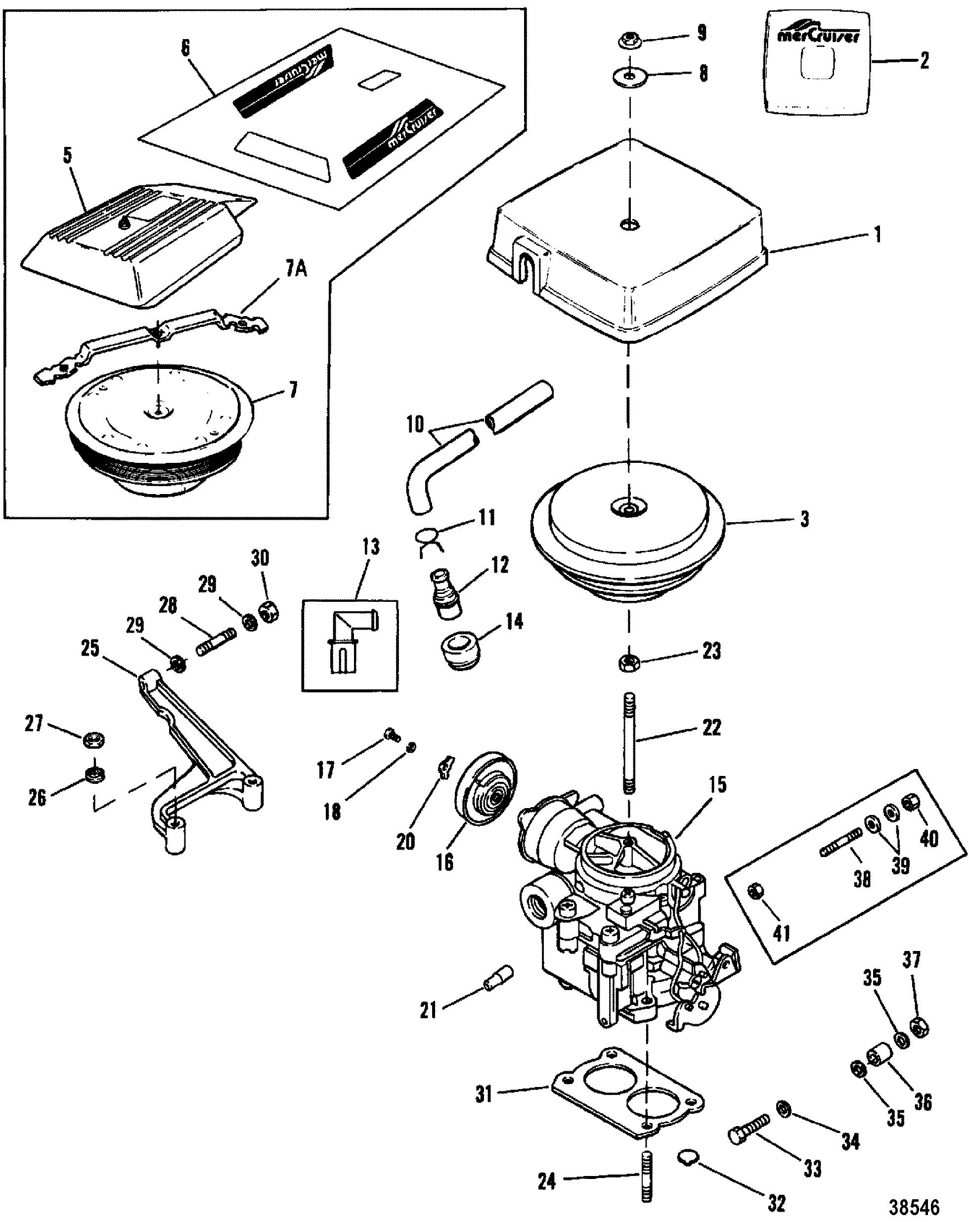 4 Barrel Carburetor Diagram 350