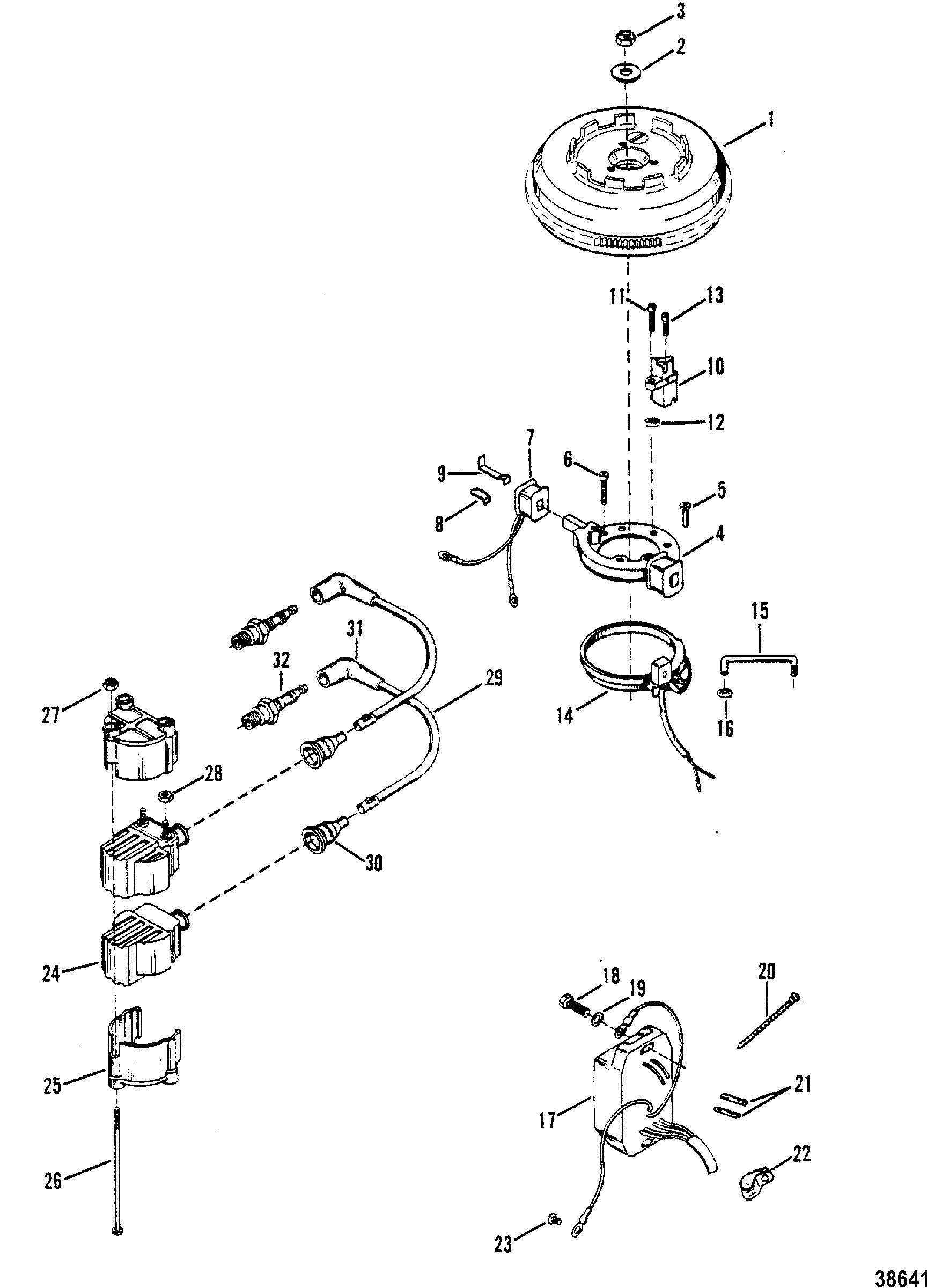 Shovelhead Stator Parts Diagram