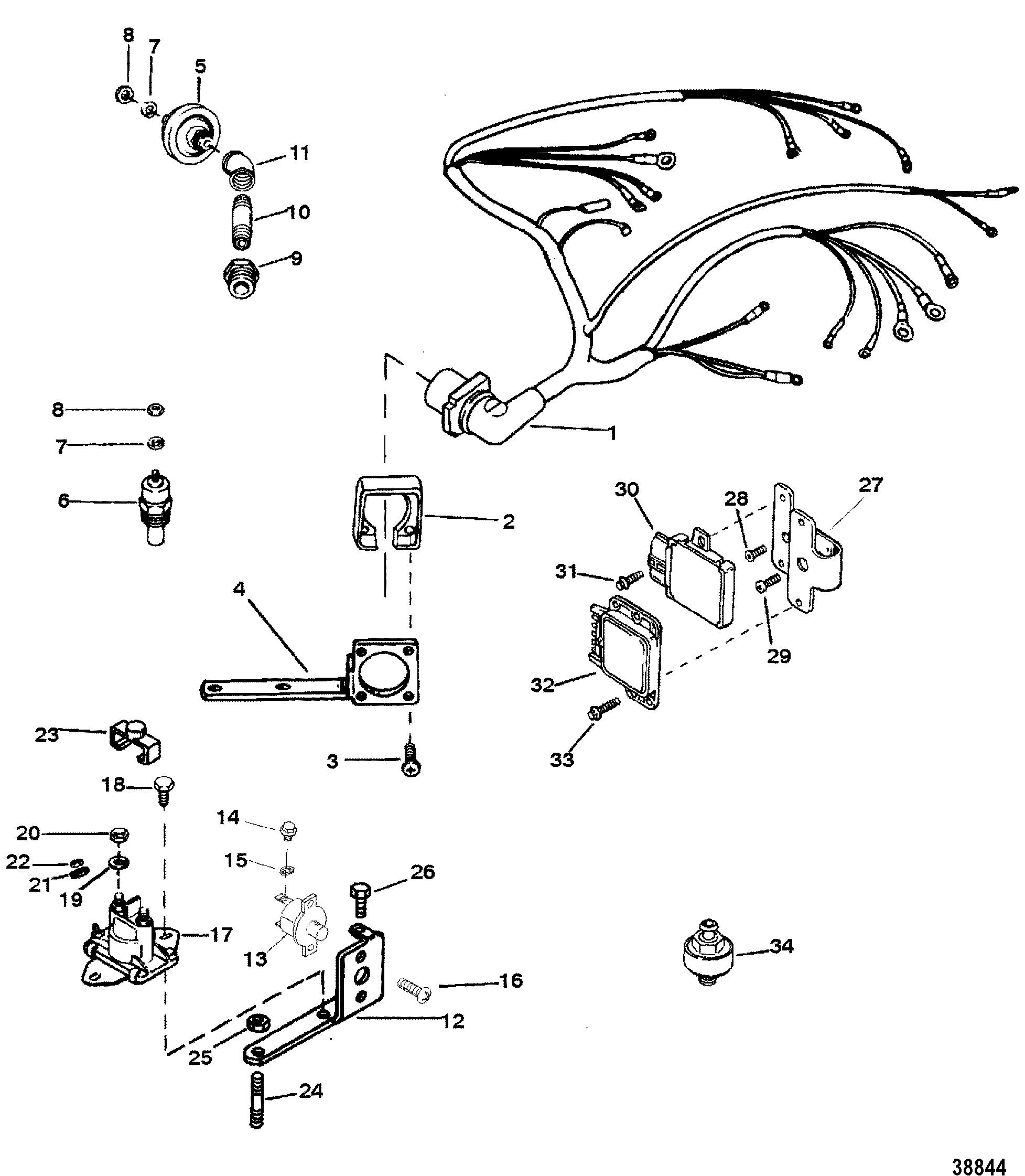 4 3 Mercruiser Solenoid Wiring