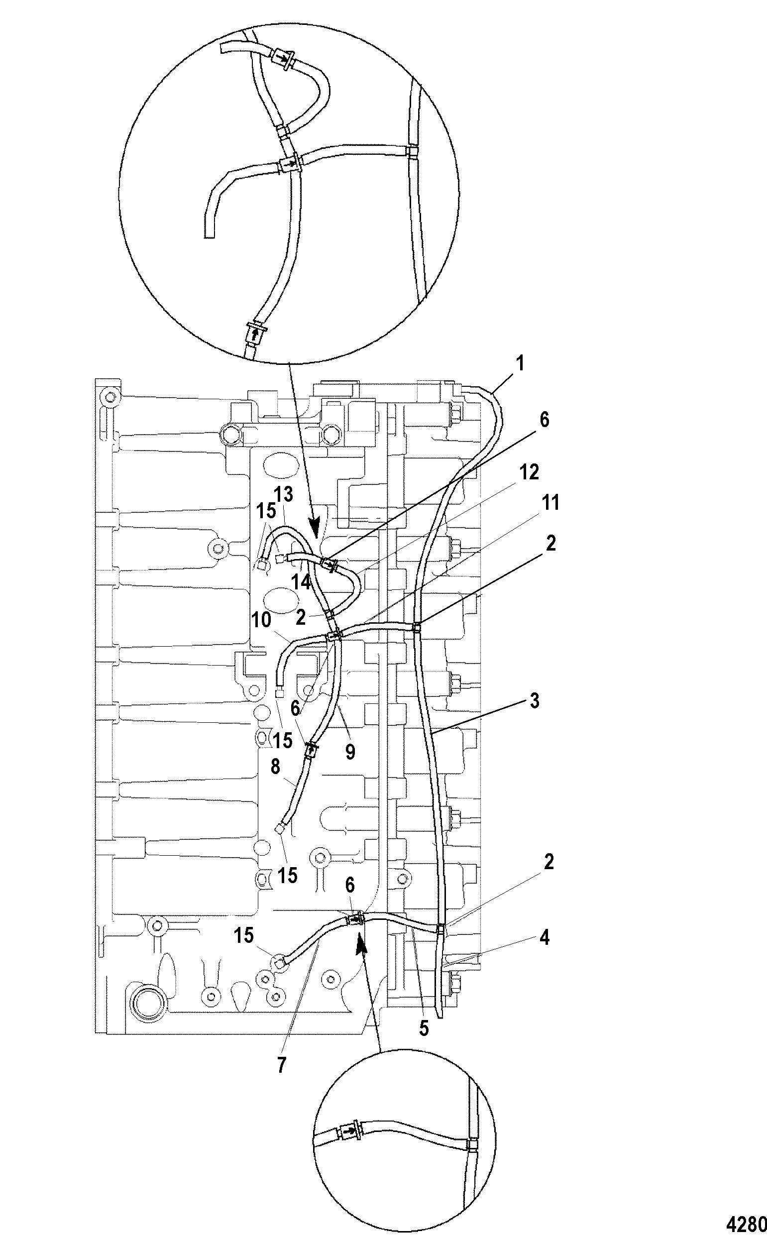 Bleed System For Mariner Mercury 115 125 Hp Jet 80 4