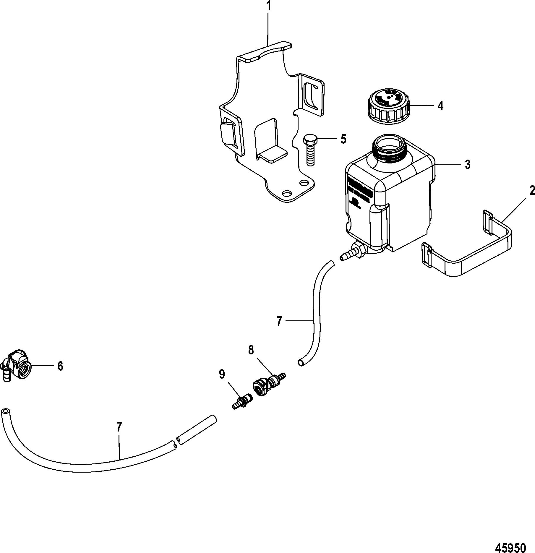 Gear Lube Monitor For Mercruiser 4 3l Mpi Alpha Bravo Ec