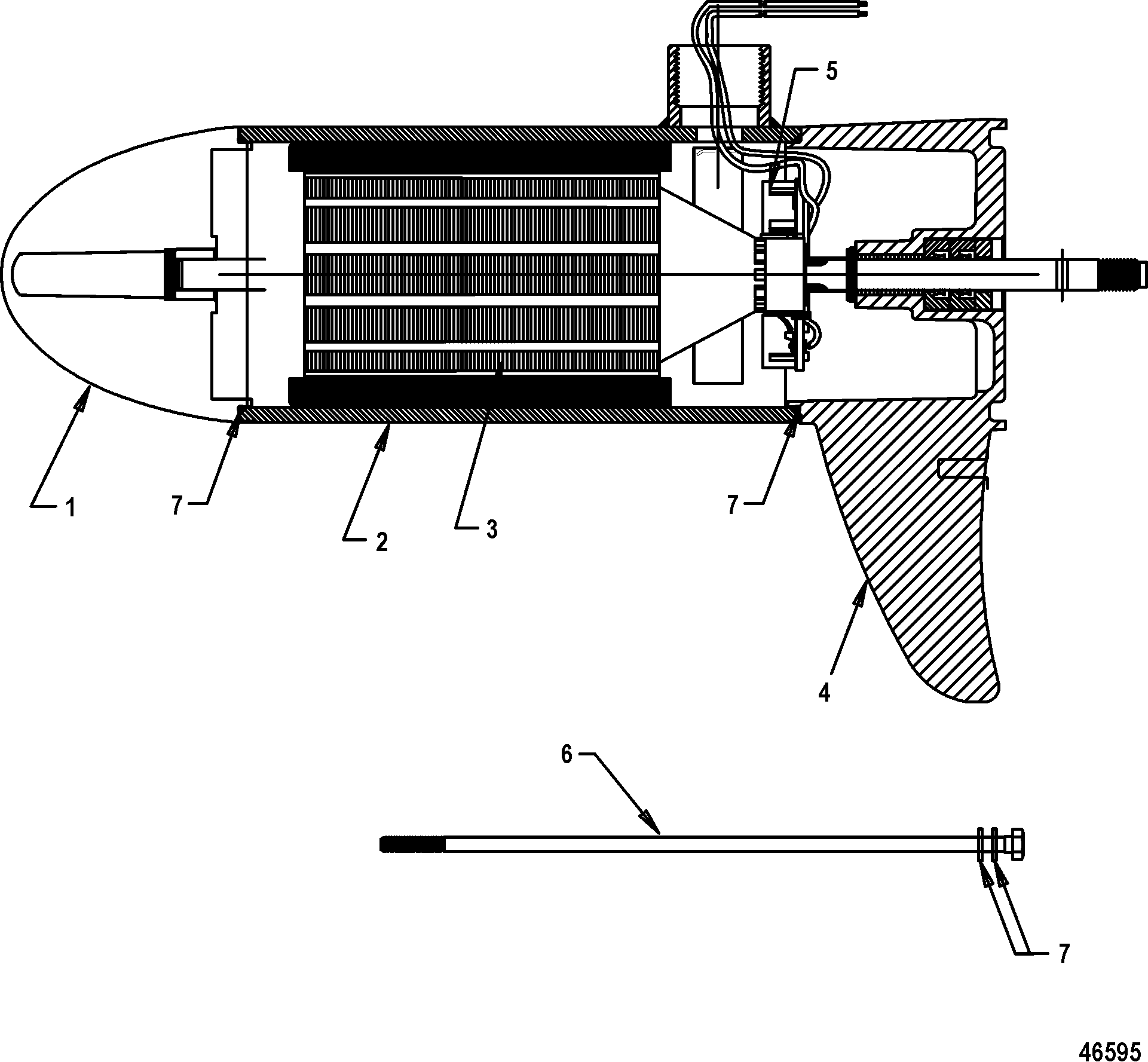 Motorguide Pro Series Parts Diagram