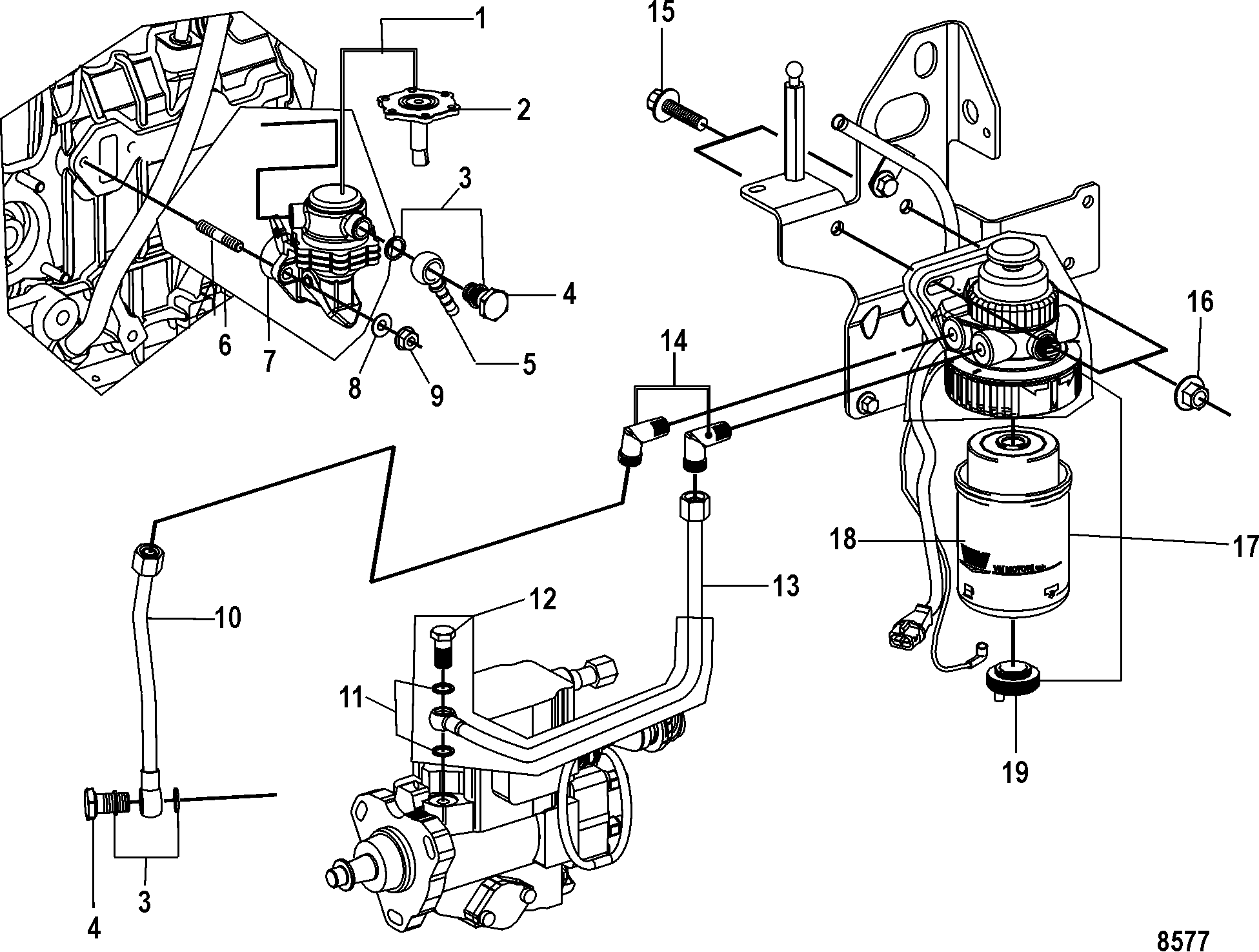 140 Mercruiser Cooling System Diagram 140 Free Engine