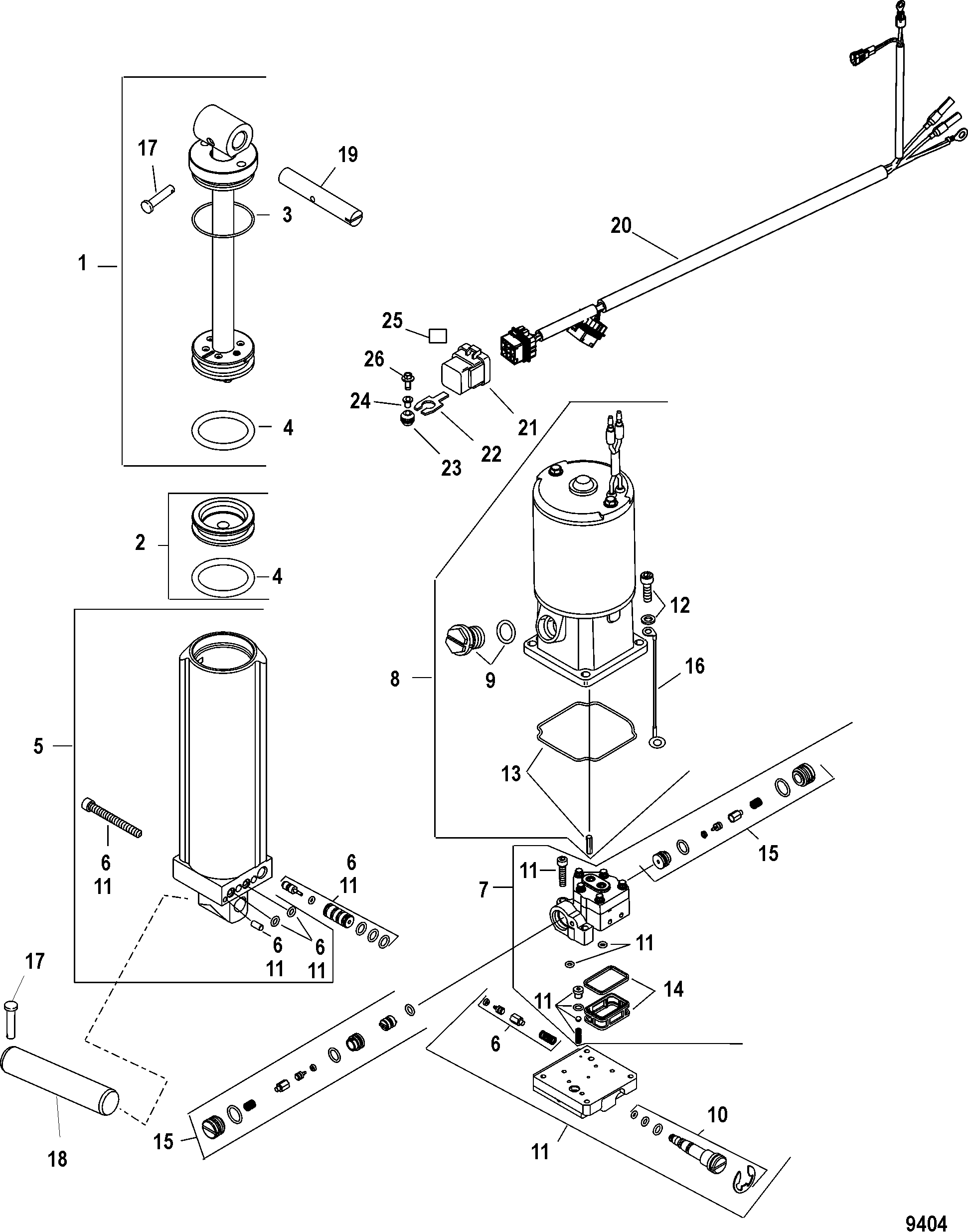 90 Hp Mercury 4 Stroke Efi Electrical Diagram
