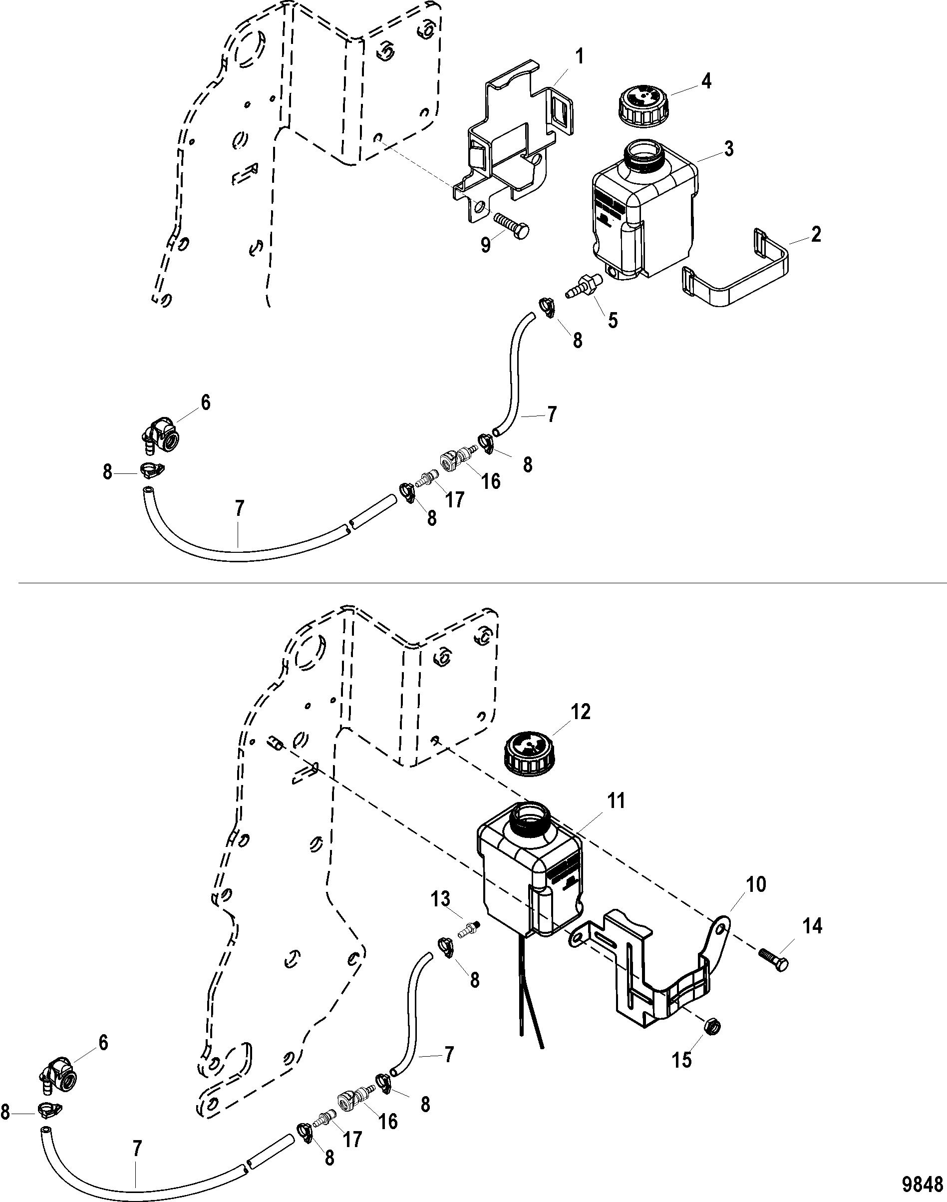 Gear Lube Monitor For Mercruiser 5 0l 350 Mag Mx 6 2l Mpi