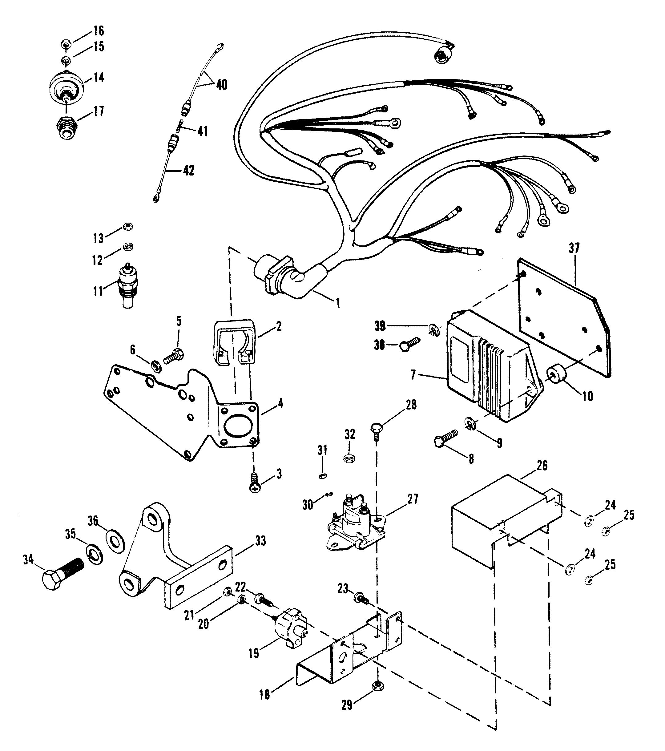 Mercruiser 454 Engine Diagram Bravo 3