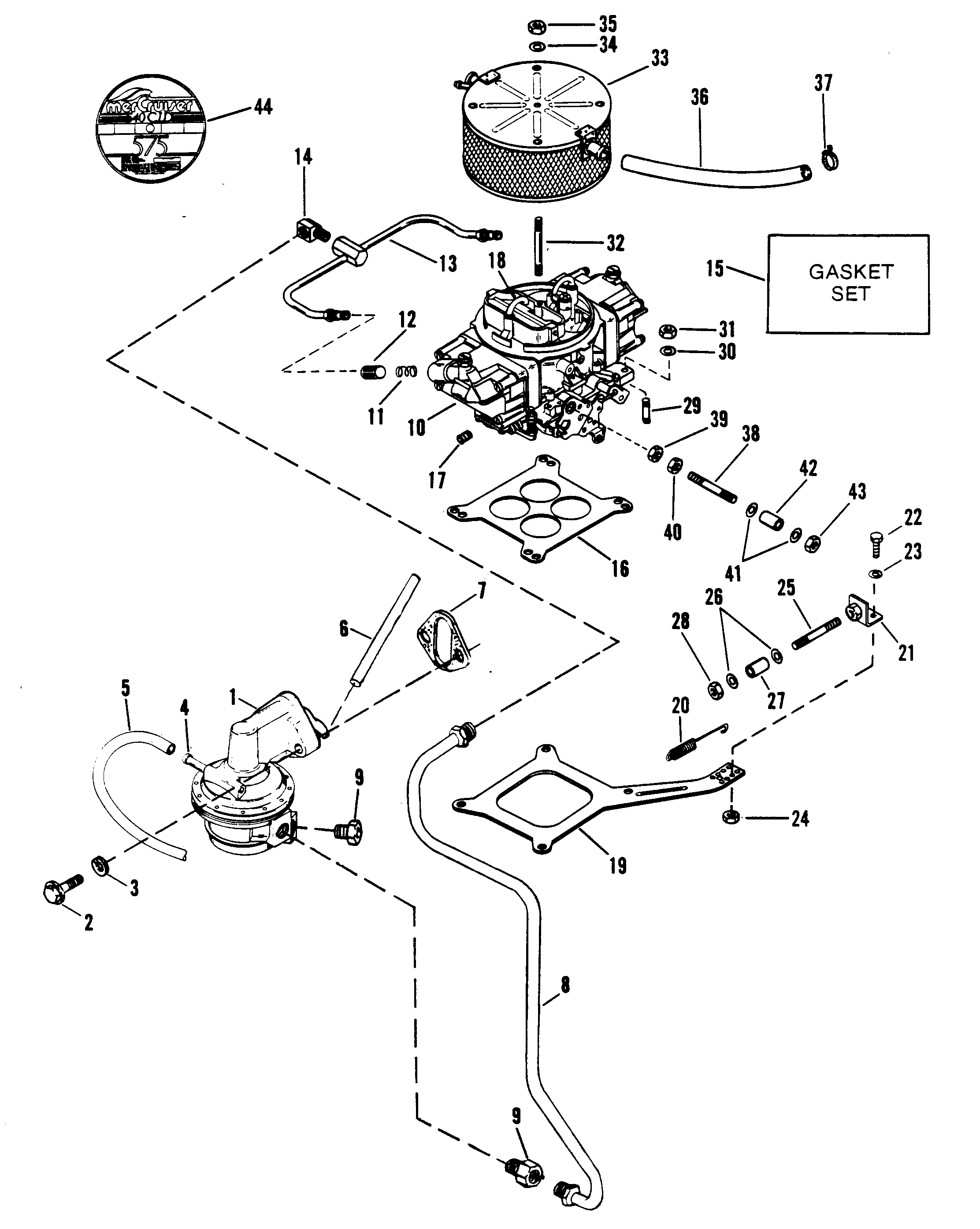 Mercruiser Sterndrive Parts Diagram Engine Wiring
