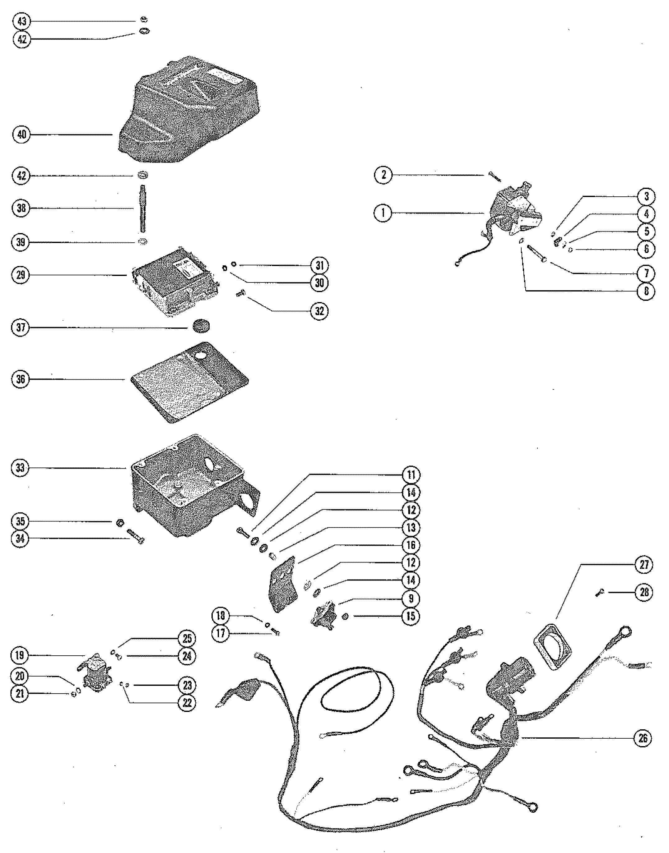 Mercury Ignition Wiring Diagram
