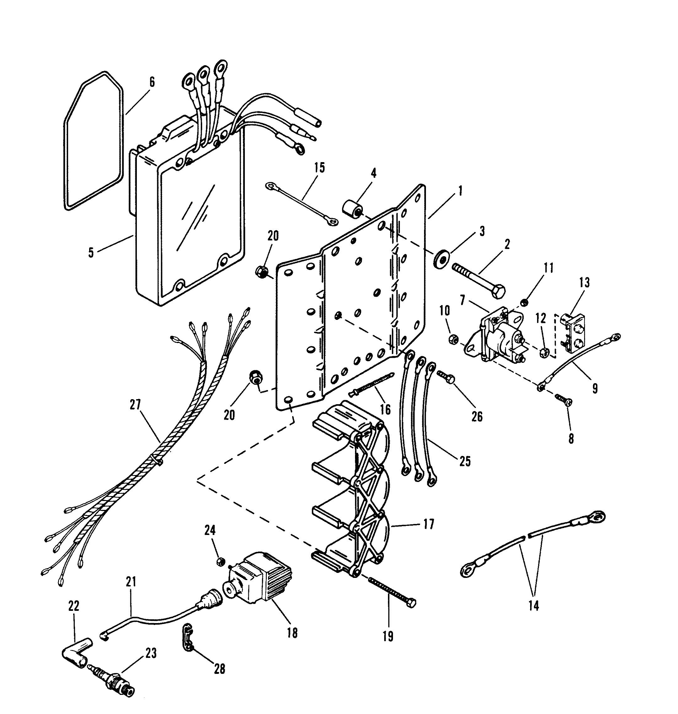 Ignition Coil Voltage Regulator For Mariner Mercury
