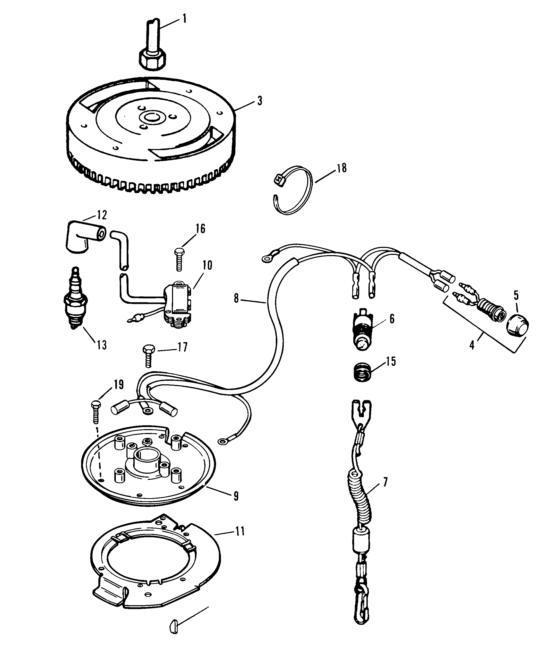 Ignition System For 15 H P Outboard Motor