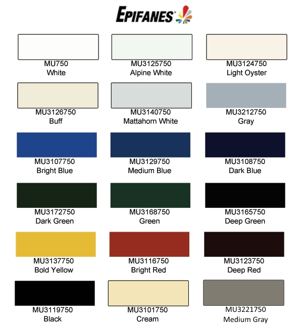West Marine Paint Colors