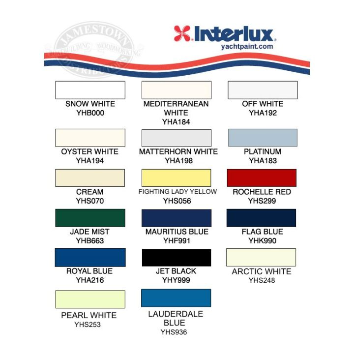 Interlux Perfection Color Chart Todayss