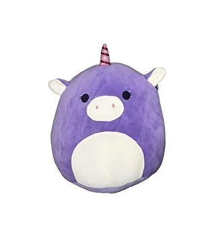 kellytoy squishmallow 8 unicorn super soft plush toy pillow pet pal buddy astrid the purple