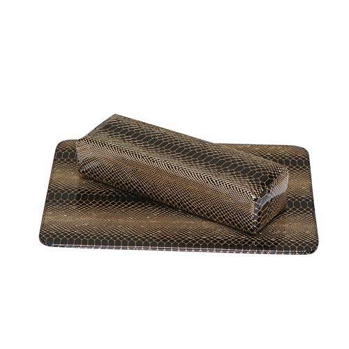 nail art snake skin table pad hand pillow arm rest cushion salon manicure tool black hand pillow pad