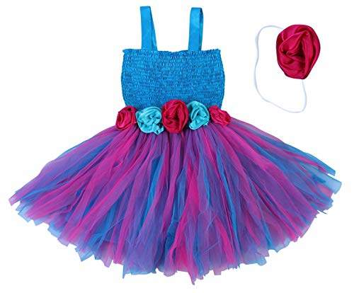 Buy Pink Wings Baby Girl Tutu Dress First Birthday Tutu Dress 3 4 Years Blue Features Price Reviews Online In India Justdial