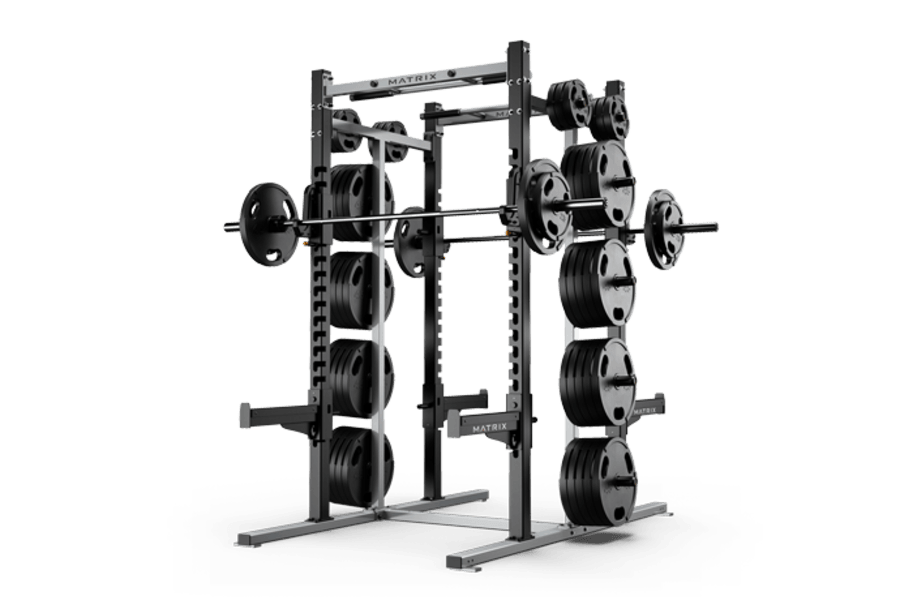 double half rack racks platforms