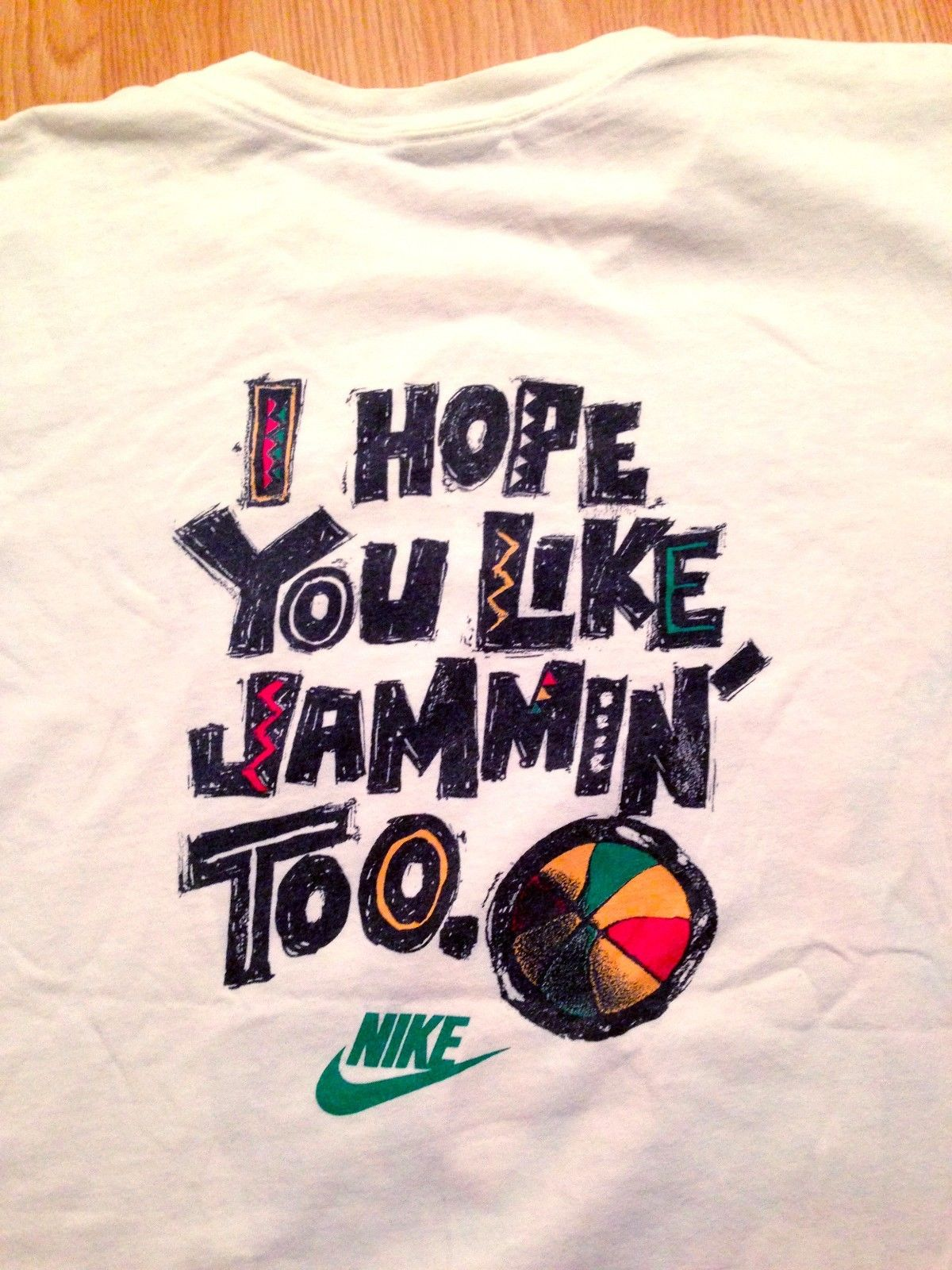 Vintage Gear Air Jordan X Bob Marley Quot Jammin Quot Shirt