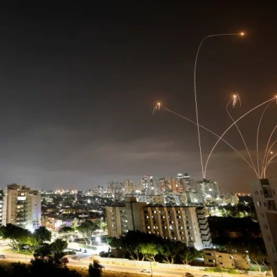 What do we know about the number of rockets fired at Israel?