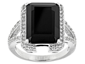 Onyx Jewelry  Shop Black Onyx Jewelry   More   JTV com Black Onyx Sterling Silver Ring  50ctw