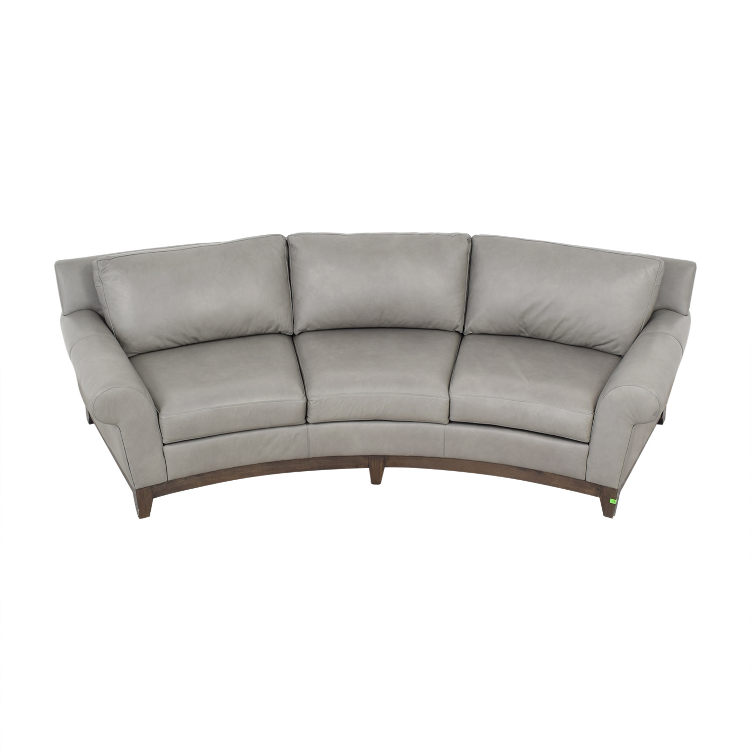 79 Off Elite Leather Company Elite Leather Company Curved Sofa Sofas
