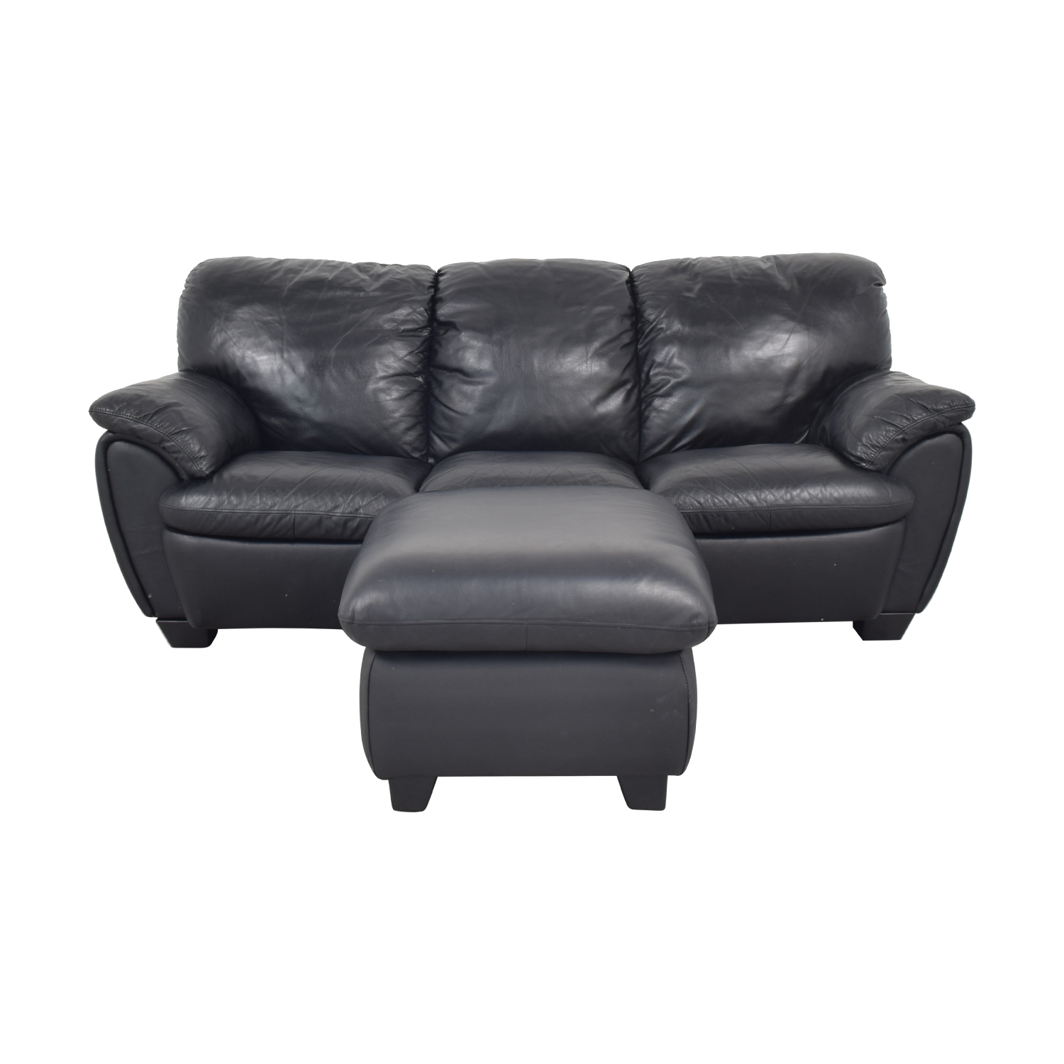 72 off broyhill furniture broyhill leather sofa and ottoman sofas