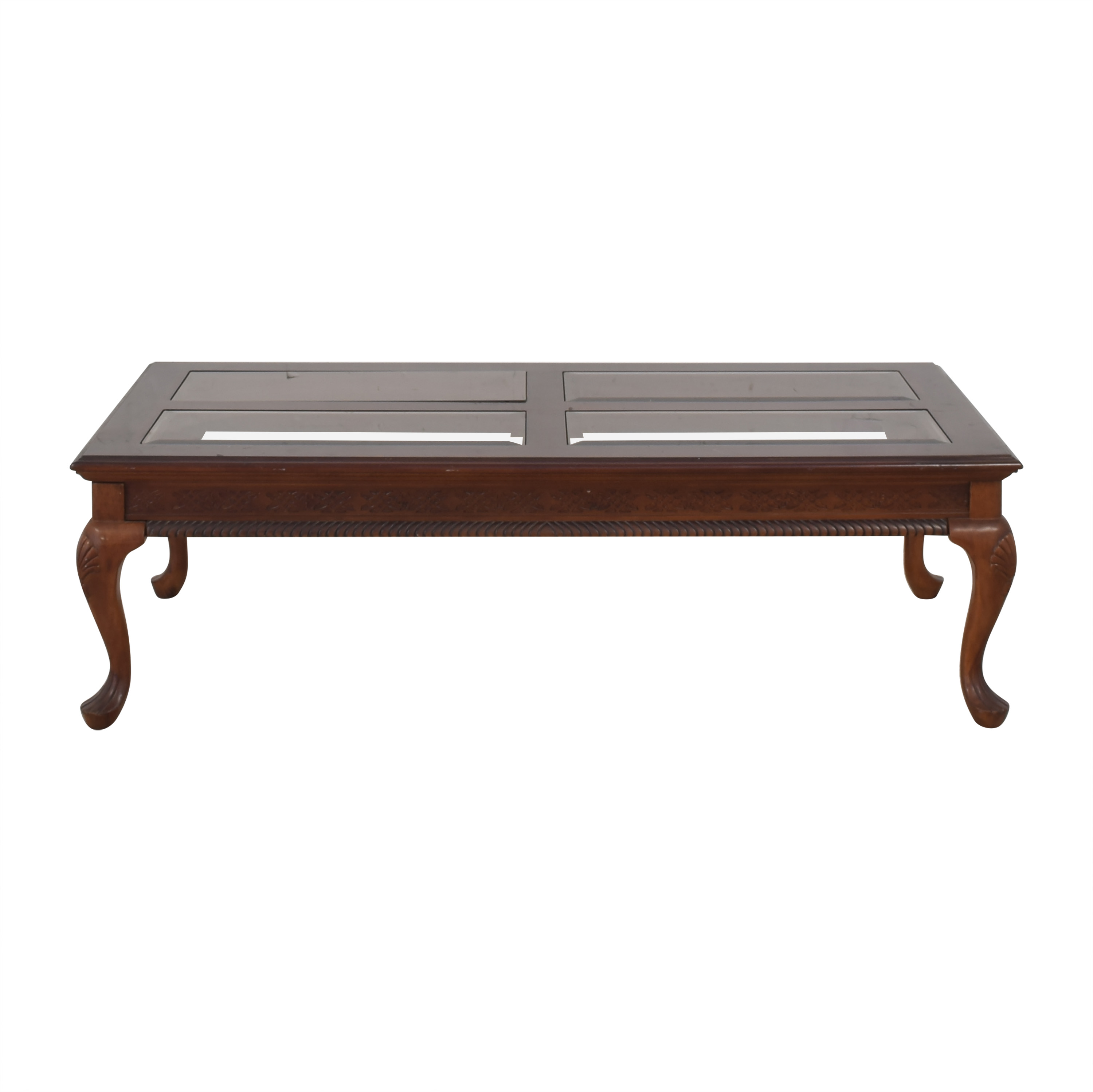 51 off glass top coffee table tables