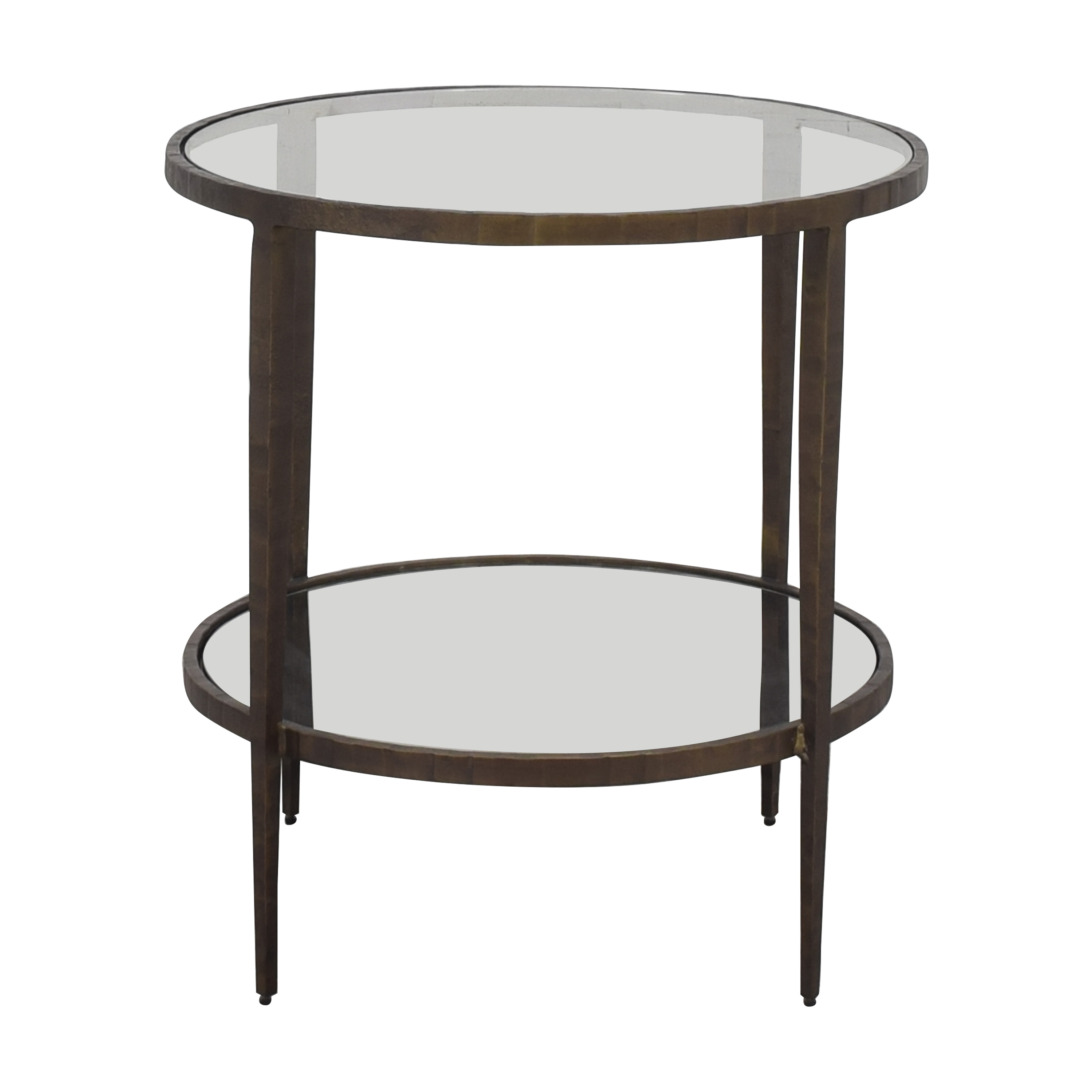 41 off crate barrel crate barrel clairemont side table tables