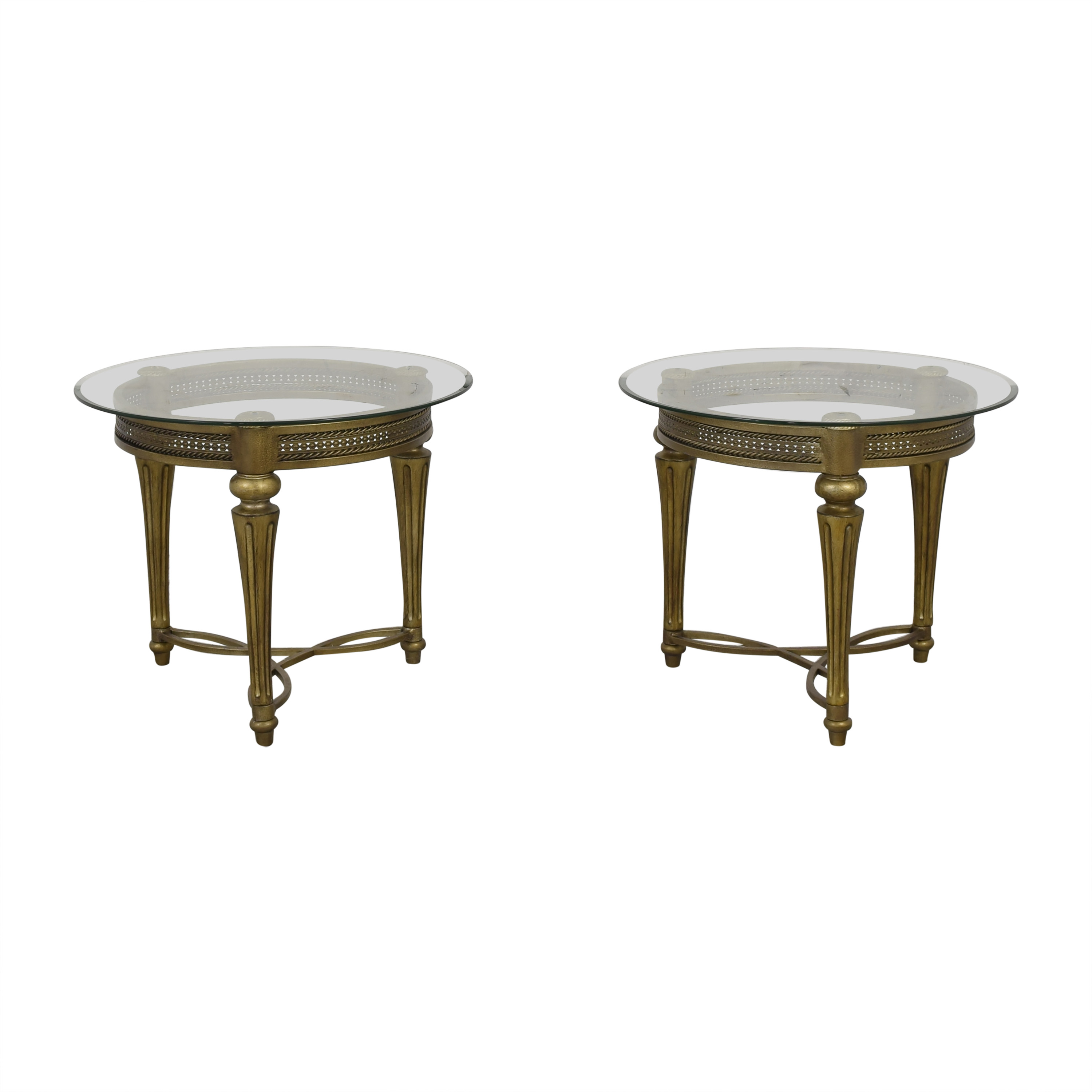 83 off magnussen home magnussen home furniture galloway round end tables tables