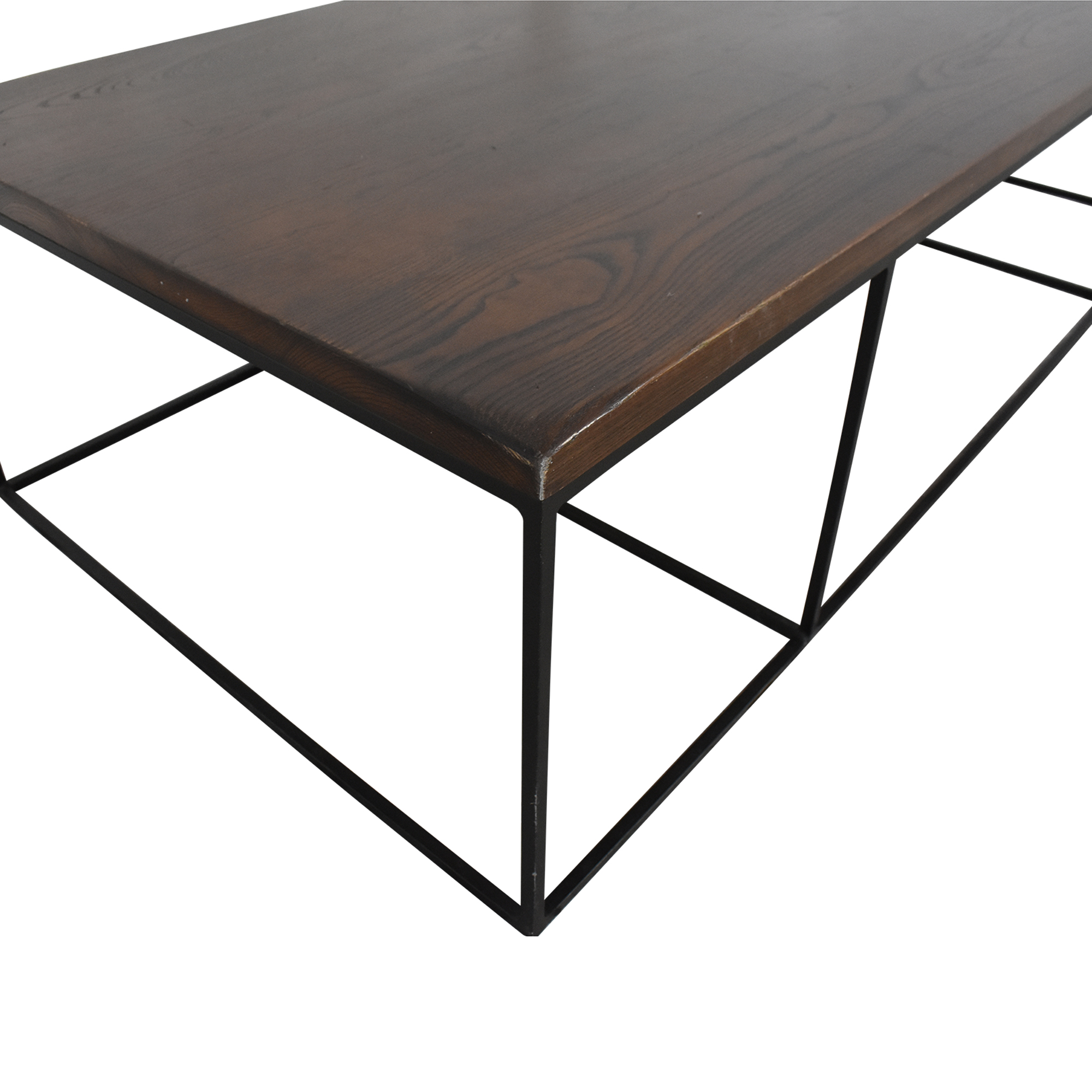 54 Off Geometric Box Frame Coffee Table Tables