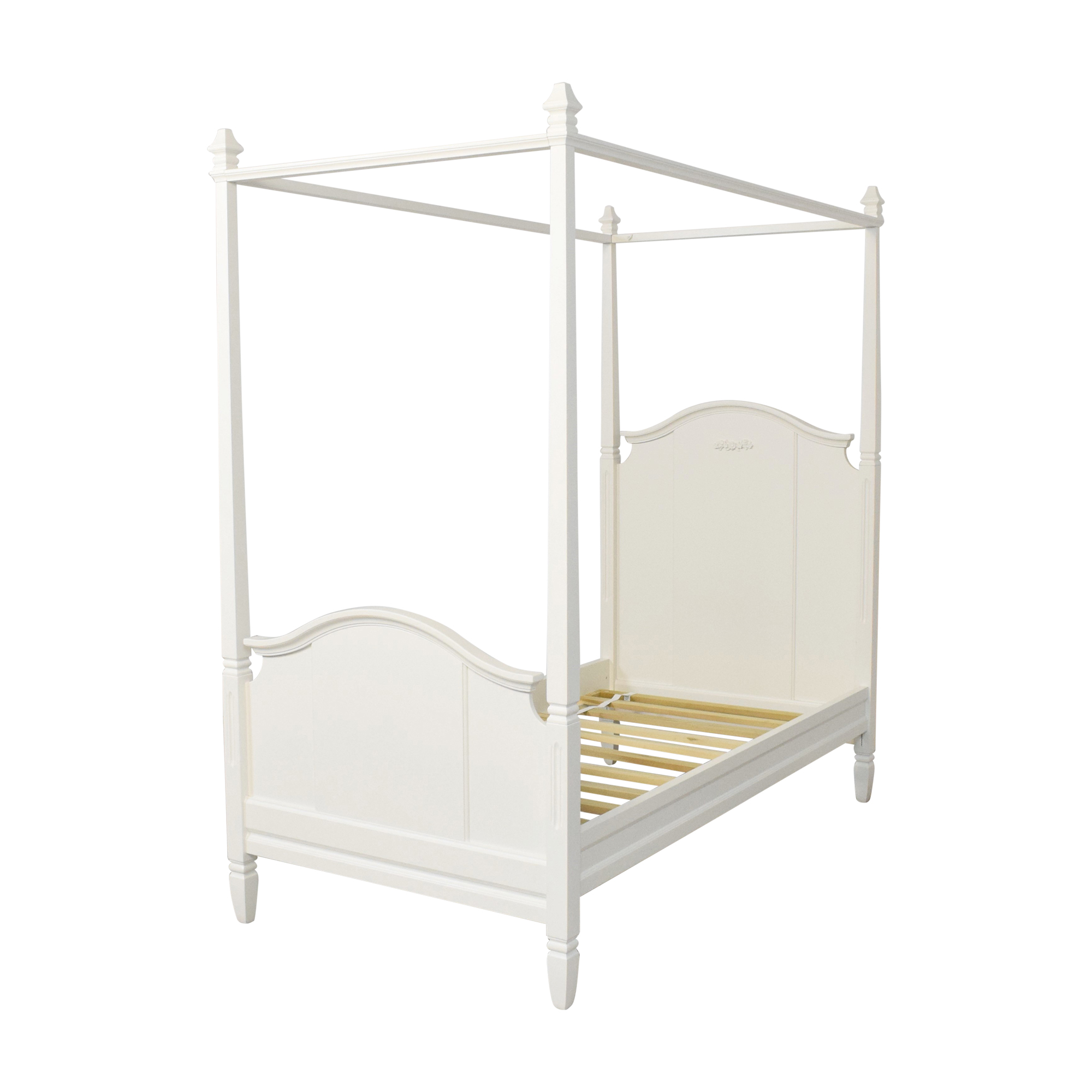 68 off pottery barn kids pottery barn kids madeline canopy twin bed beds