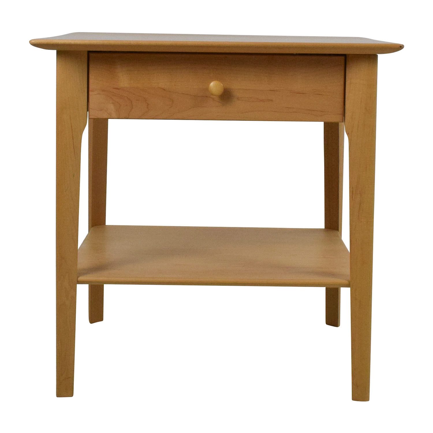 90 Off Copeland Furniture Copeland Sarah 24 Solid Maple Shaker Nightstand Tables