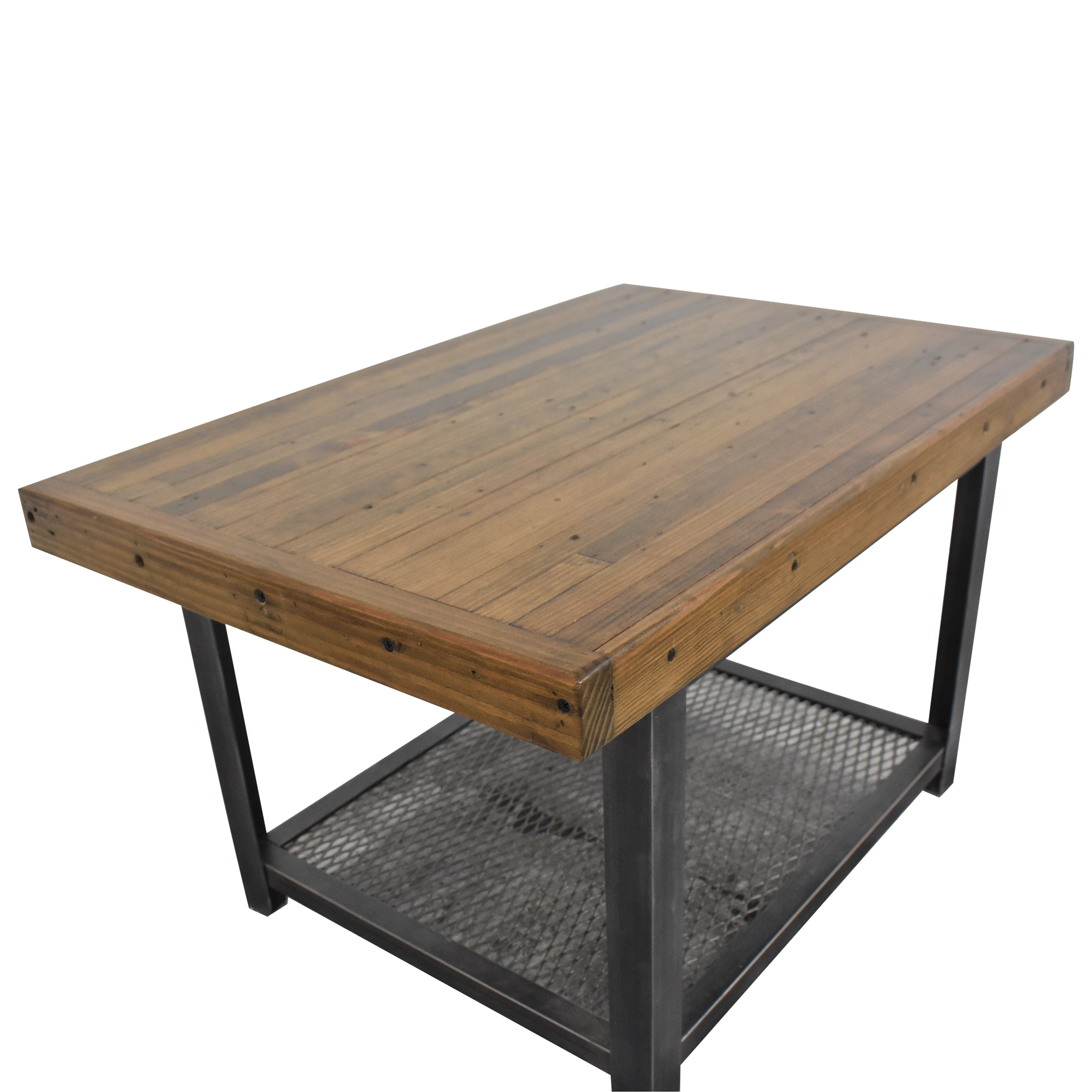 58 off brooklyn reclaimed industrial coffee table tables