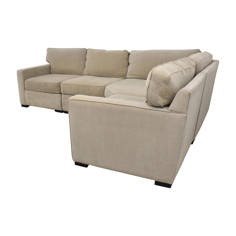 65 off macy s macy s radley sectional sofa sofas