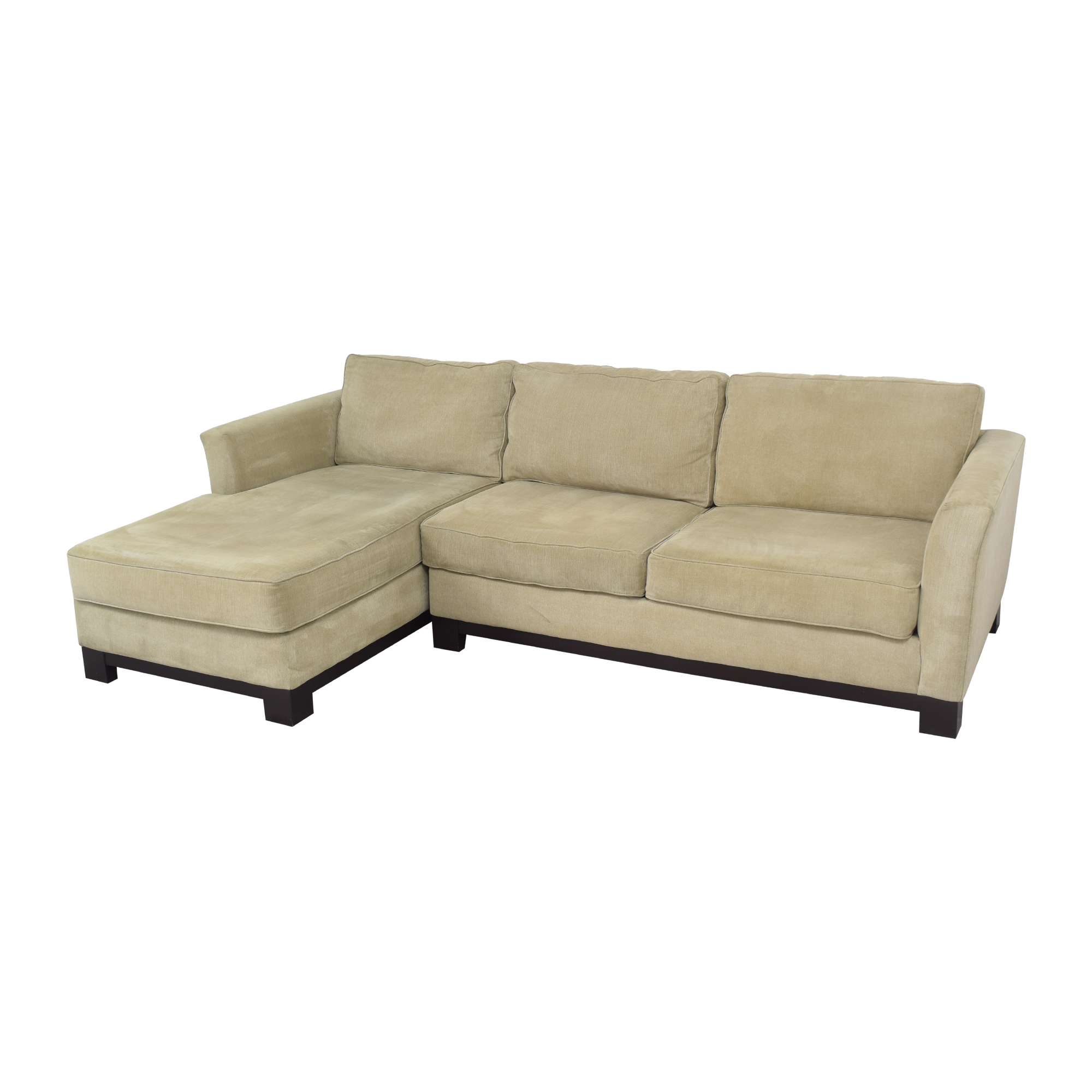 59 off macy s macy s elliot ii two piece chaise sectional sofa sofas