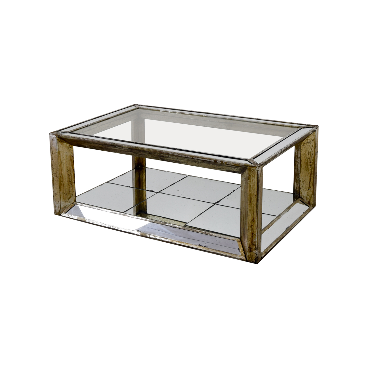 86 off houston furniture mirror and glass coffee table tables