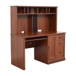 70 Off Sauder Saunders Wood Computer Desk Tables