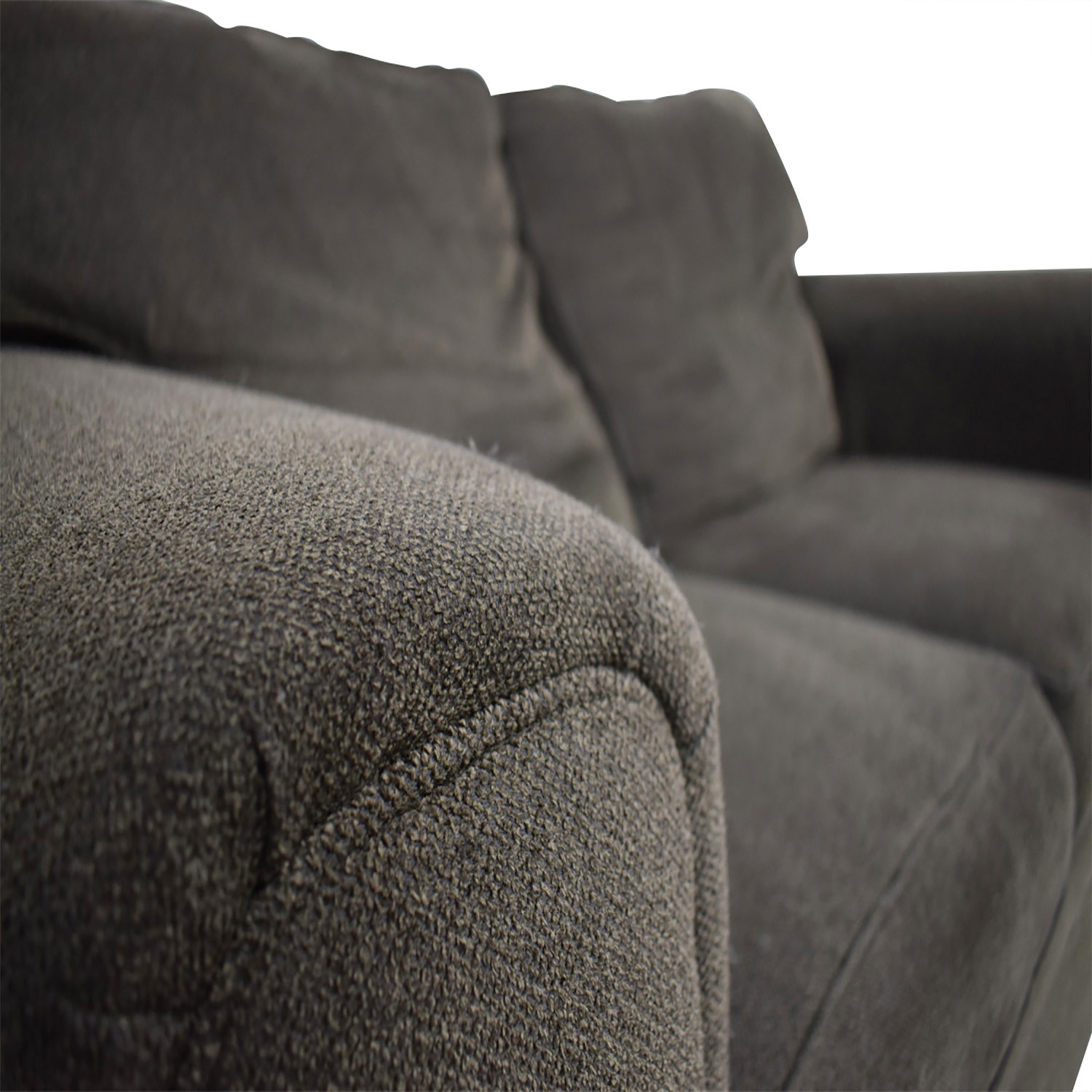 90 off broyhill furniture broyhill brown loveseat sofas